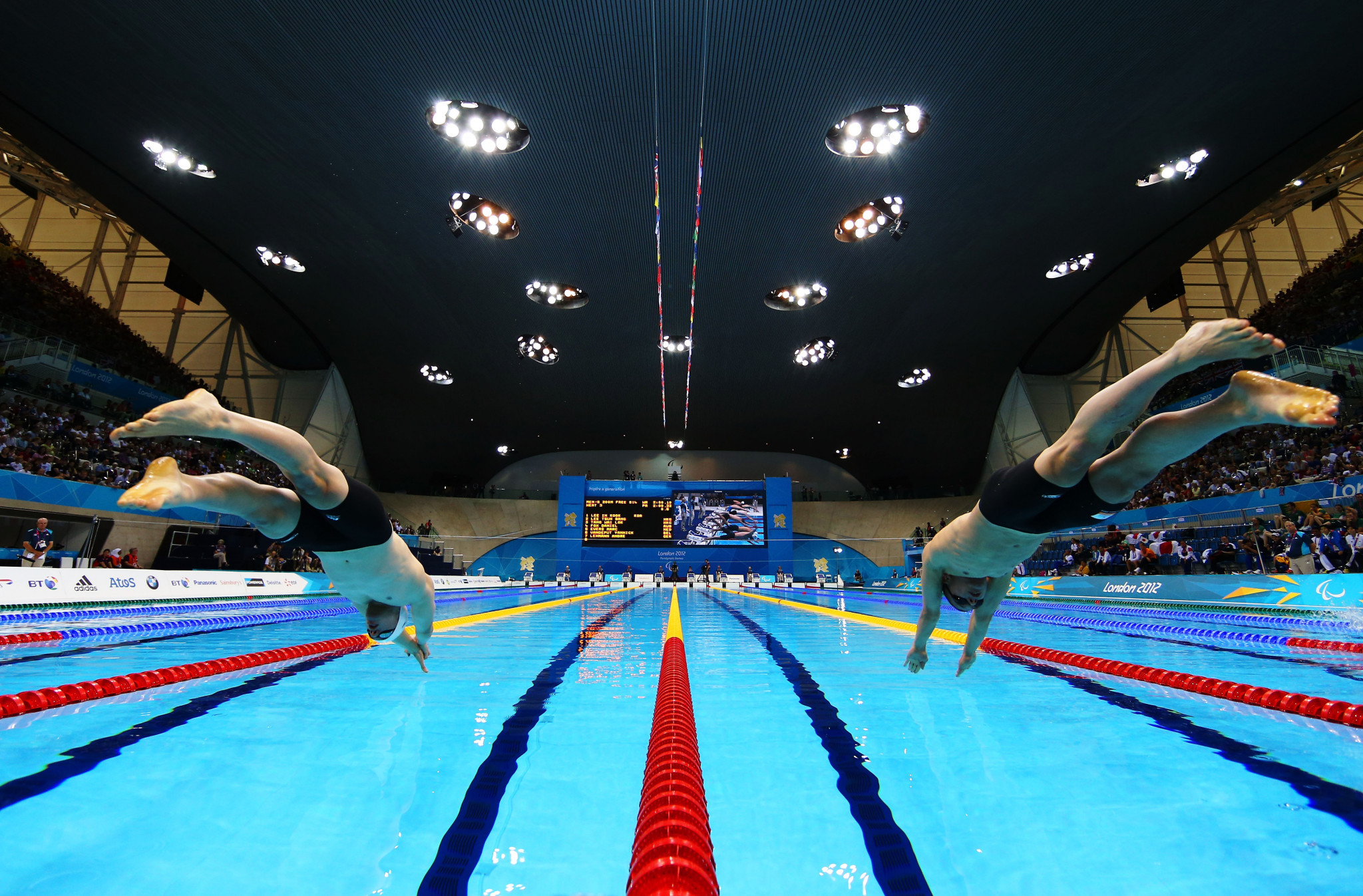 Intellectual disability events were reintroduced at the London 2012 Paralympic Games ©Getty Images