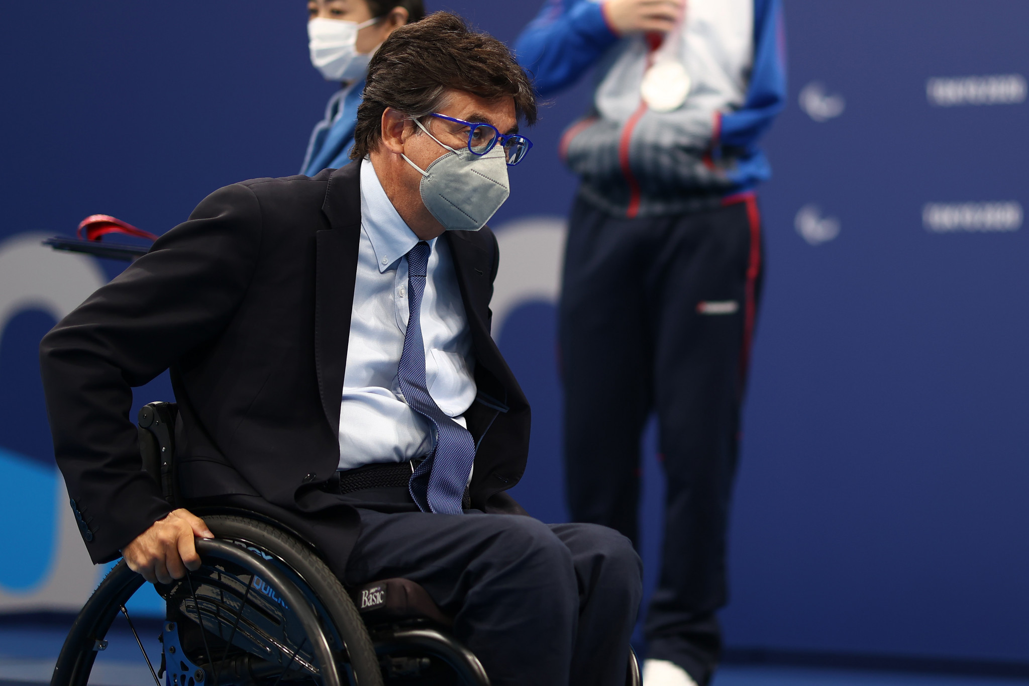 Italian Paralympic Committee President Luca Pancalli is seeking re-election to the IPC Board ©Getty Images