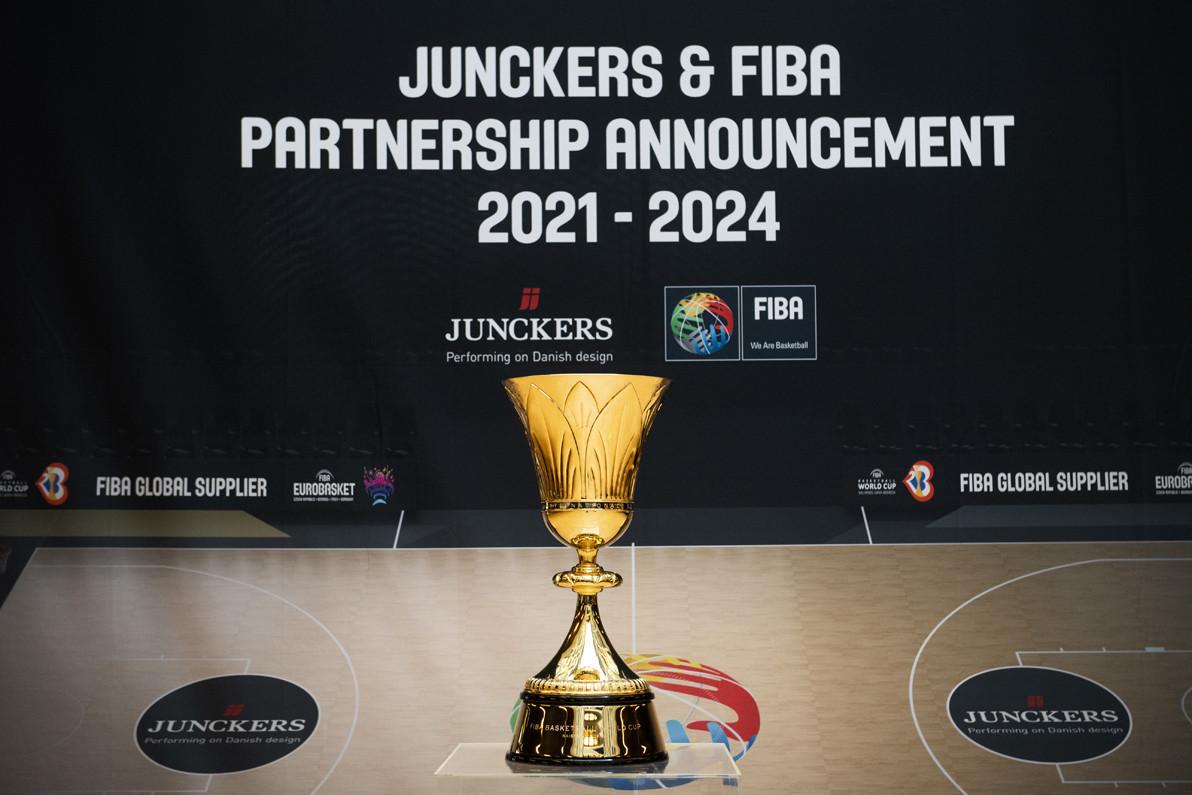 FIBA appoint Junckers as wood flooring global supplier until 2024
