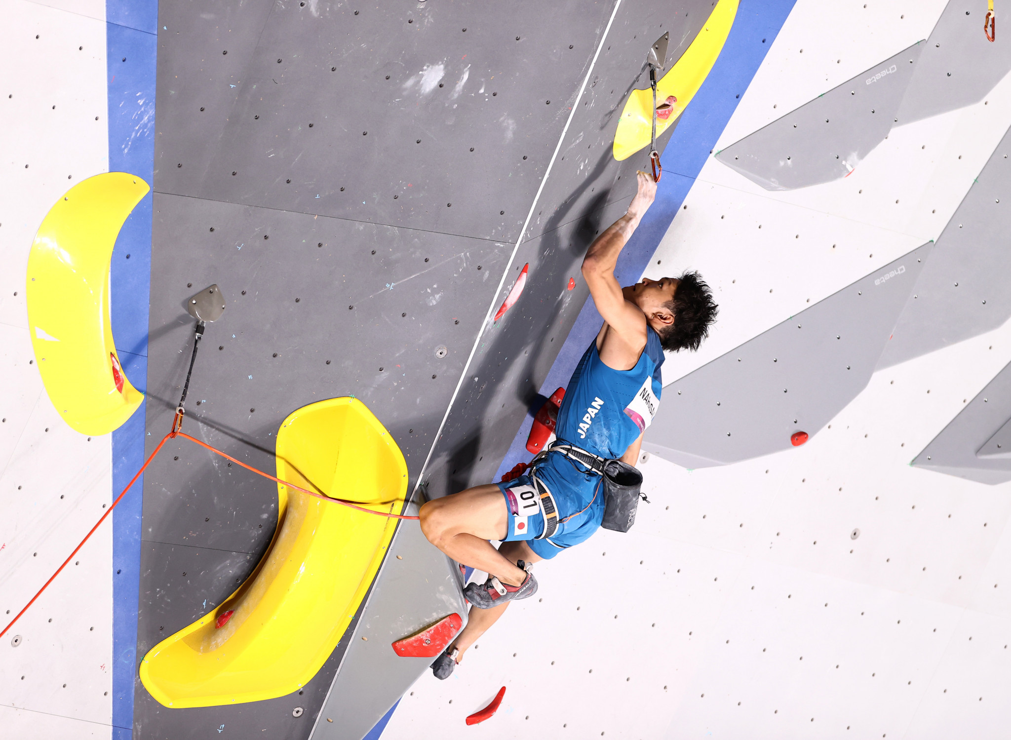 Narasaki and Seo lead the way in qualification at IFSC Climbing World Championships