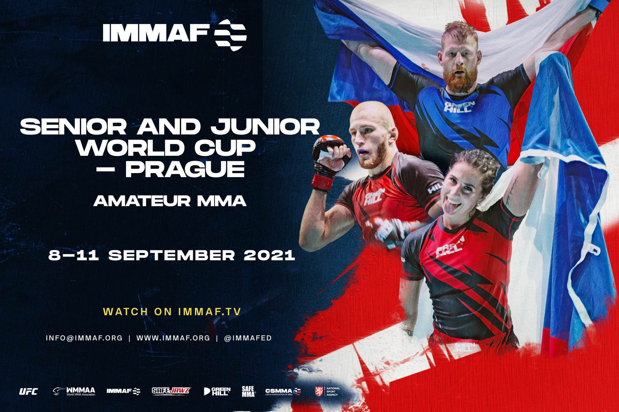 Helping develop immaf.org and the live viewing experience for the IMMAF's major championships are set to be among Mikhail Mazur's main responsibilities ©IMMAF