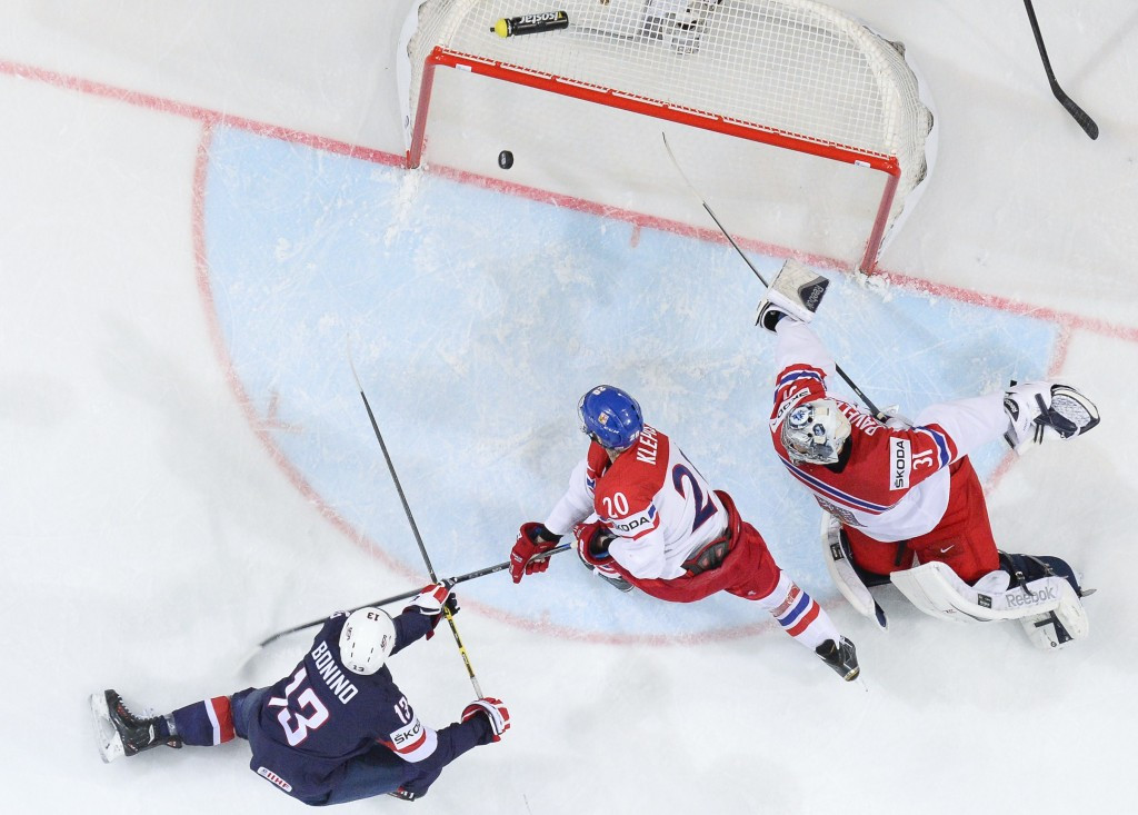 The United States are taking the Ice Hockey World Championship bronze medal home with them