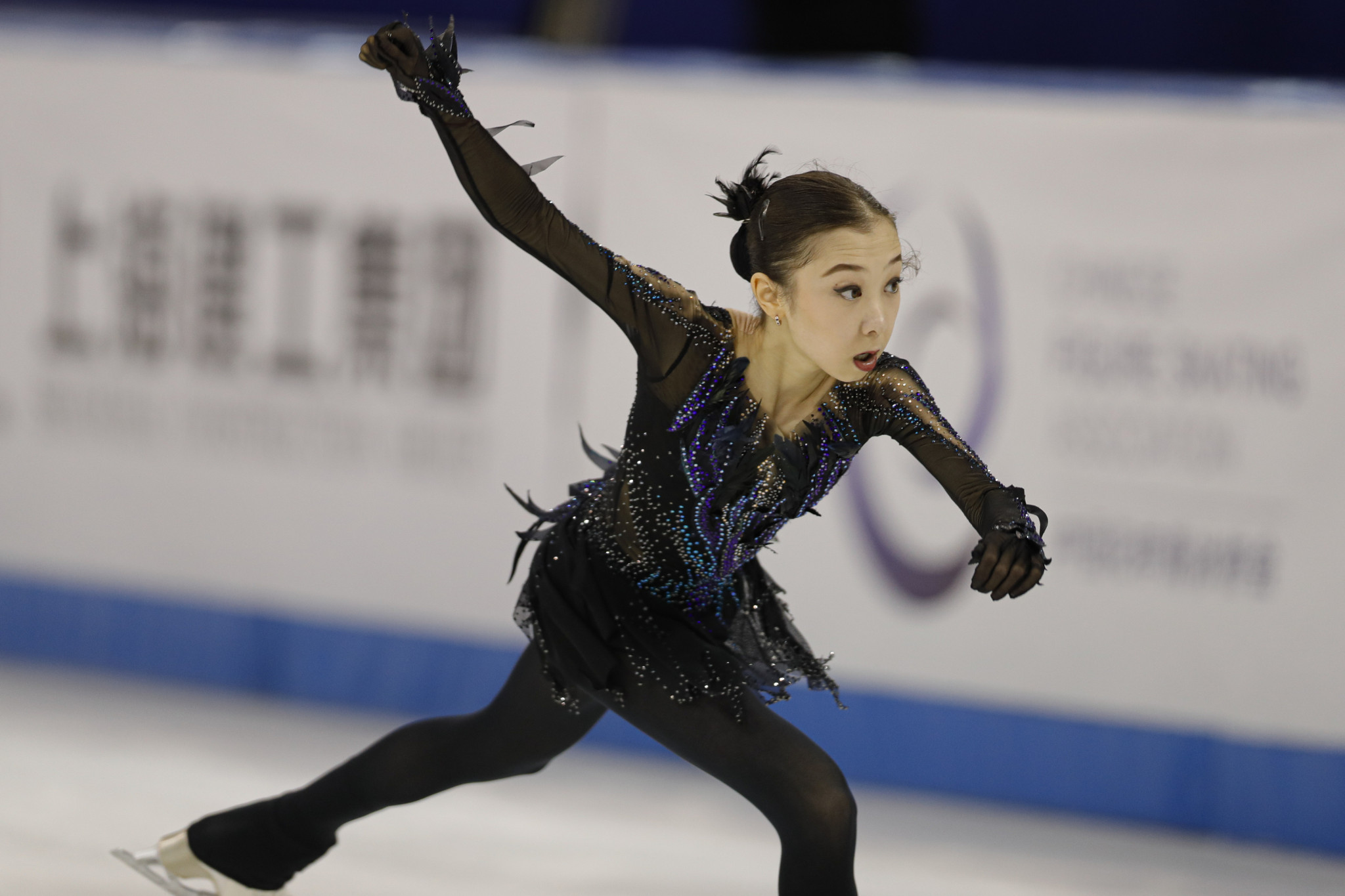 Kazakhstan's Elizabet Tursynbaeva has retired from figure skating due to a back problem ©Getty Images