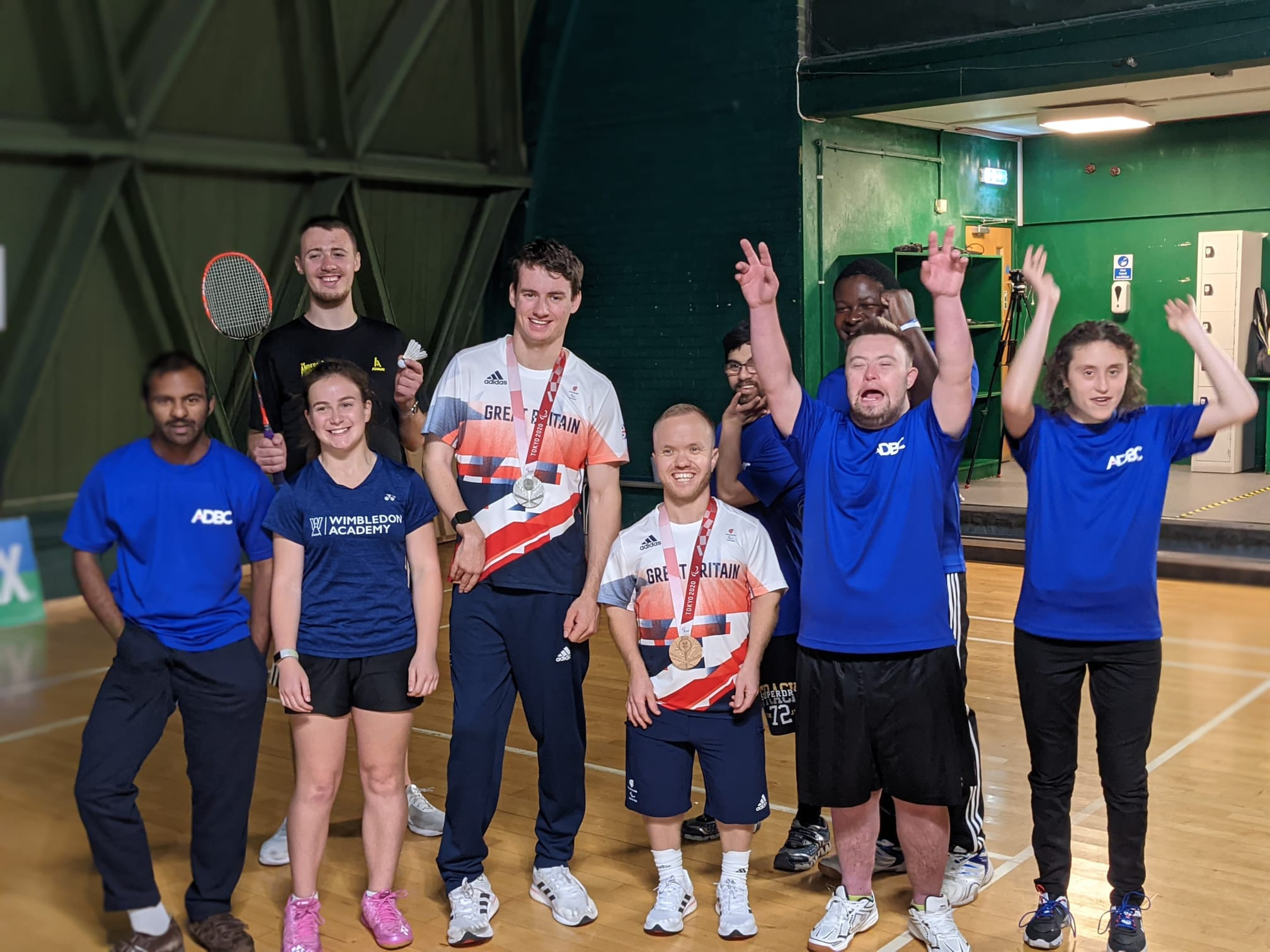 Paralympic medallists launch Badminton England's Big Hit campaign