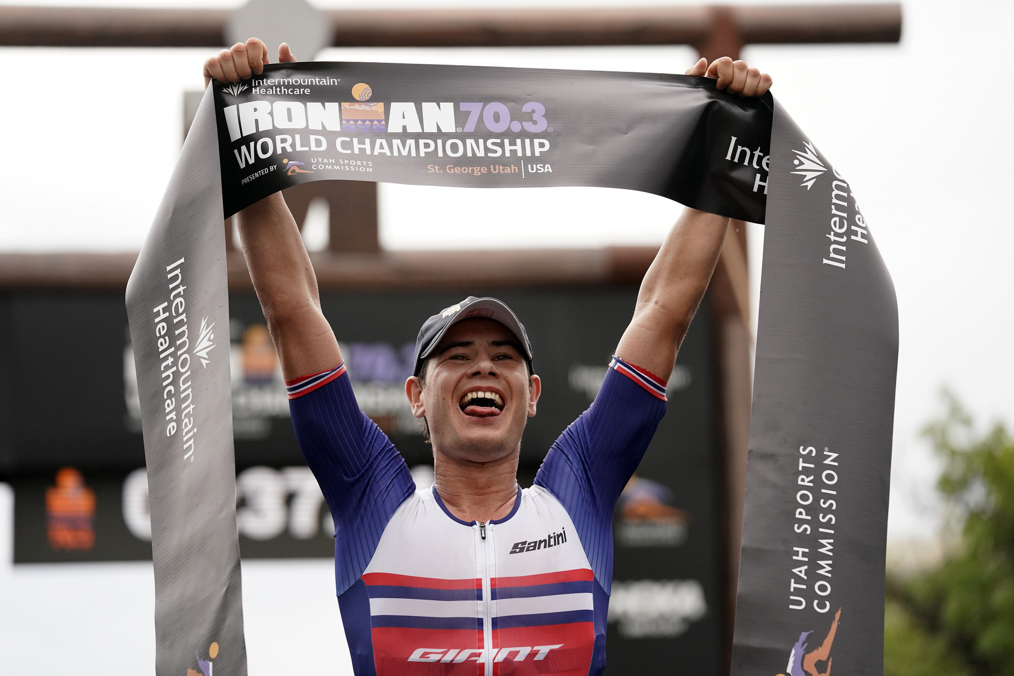 Iden defends men's Ironman World Championships 70.3 title while Charles-Barclay wins women's title