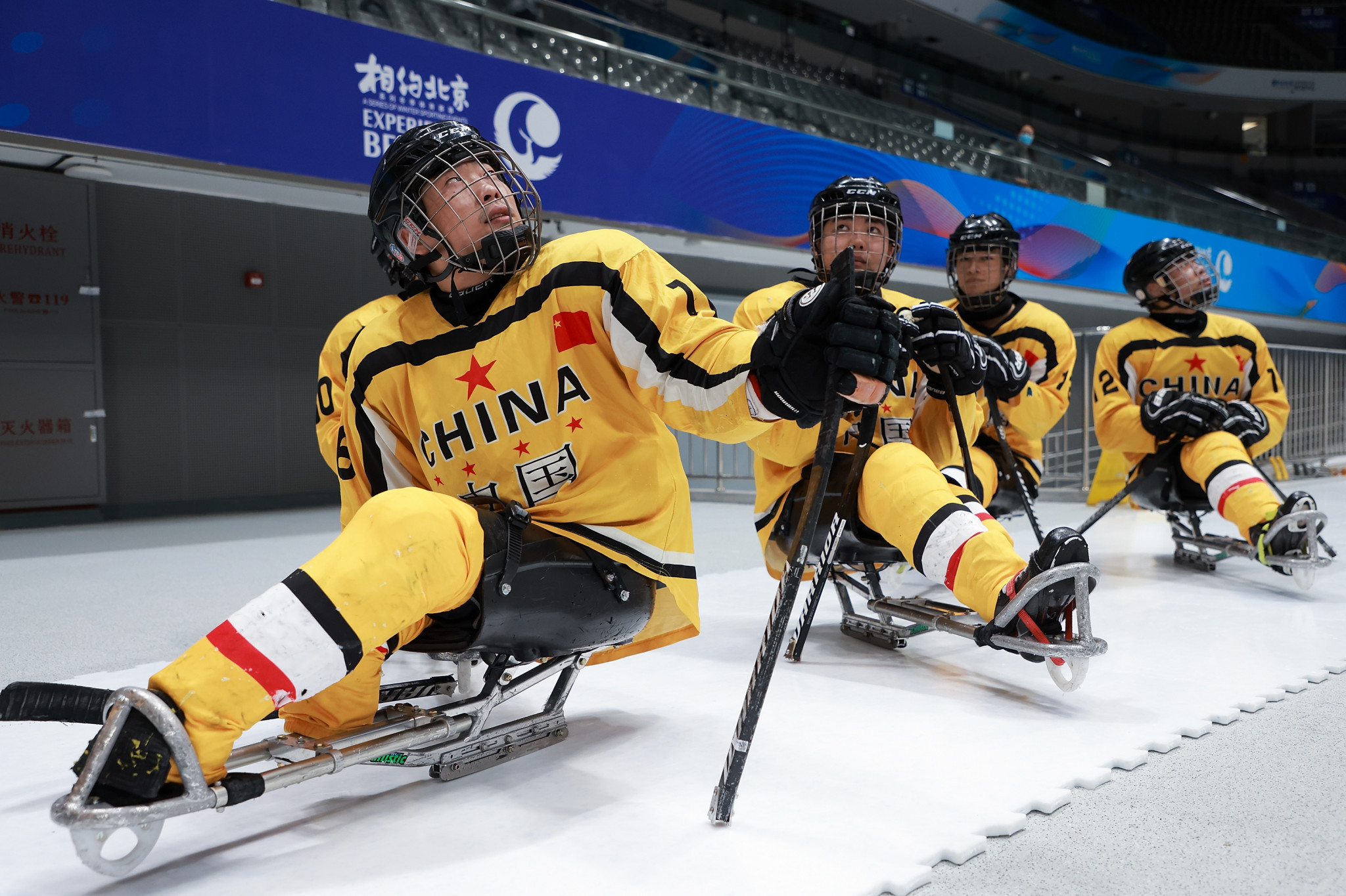 China beat hosts Sweden to stay undefeated at World Para Ice Hockey Championships B-Pool