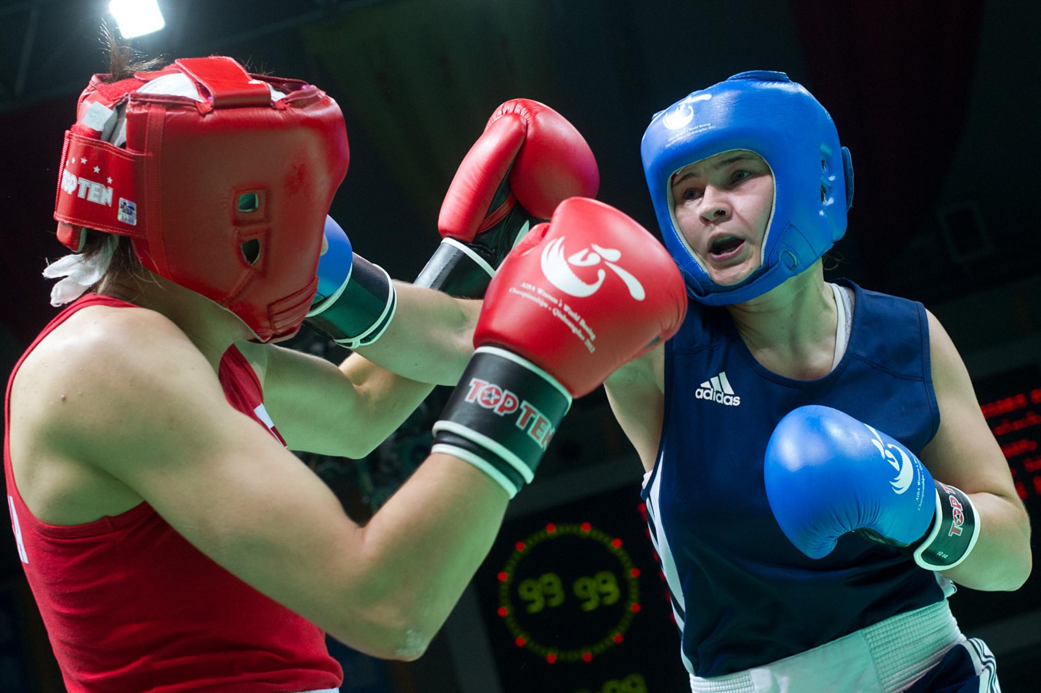 European champion Abramova wins at World Military Boxing Championships