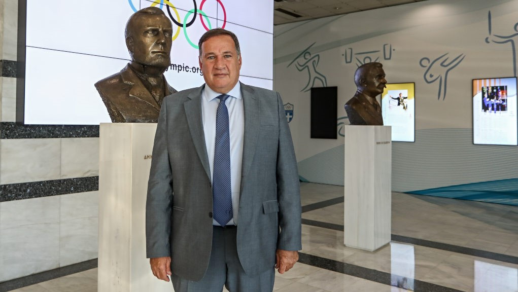 Capralos re-elected President of Hellenic Olympic Committee for fourth term