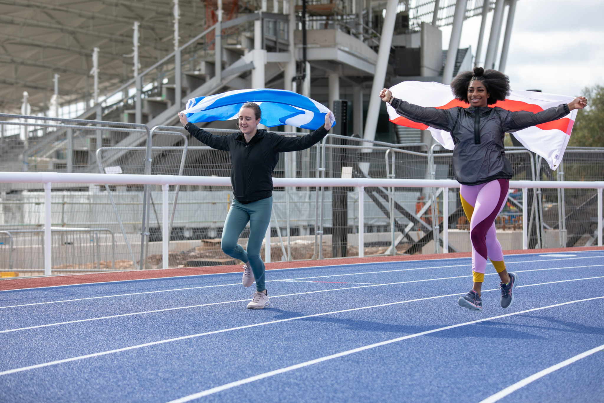 Laura Muir and Kadeena Cox are set to compete for Scotland and England respectively at next year's Commonwealth Games ©Birmingham 2022
