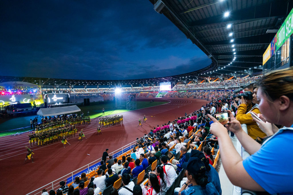More than 10,000 athletes are expected to compete at the postponed Southeast Asian Games ©Getty Images