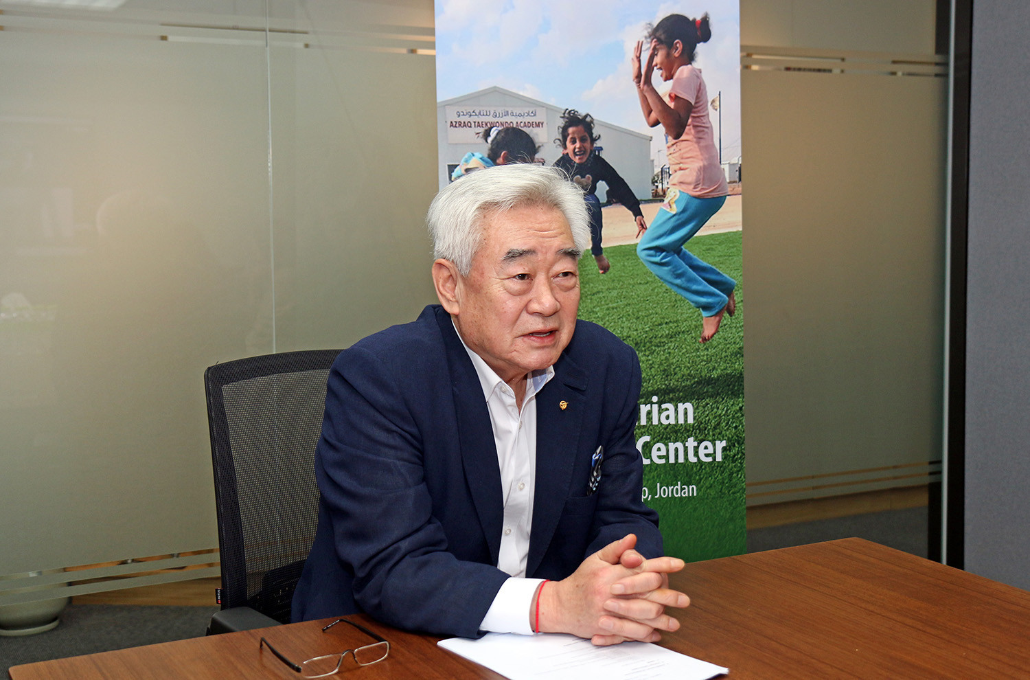 World Taekwondo President calls on sport to increase cooperation to help peace effort