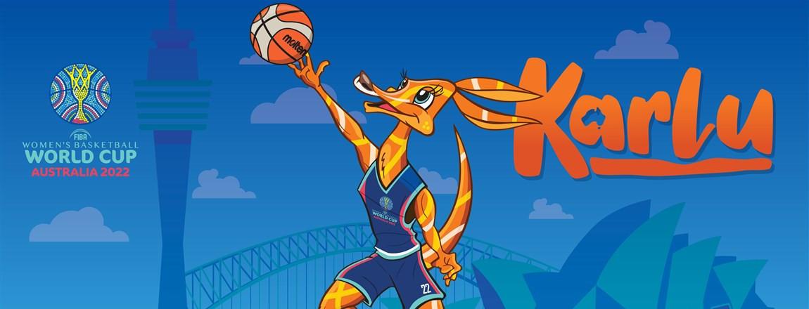 Kangaroo called Karlu unveiled as mascot for 2022 FIBA Women's World Cup