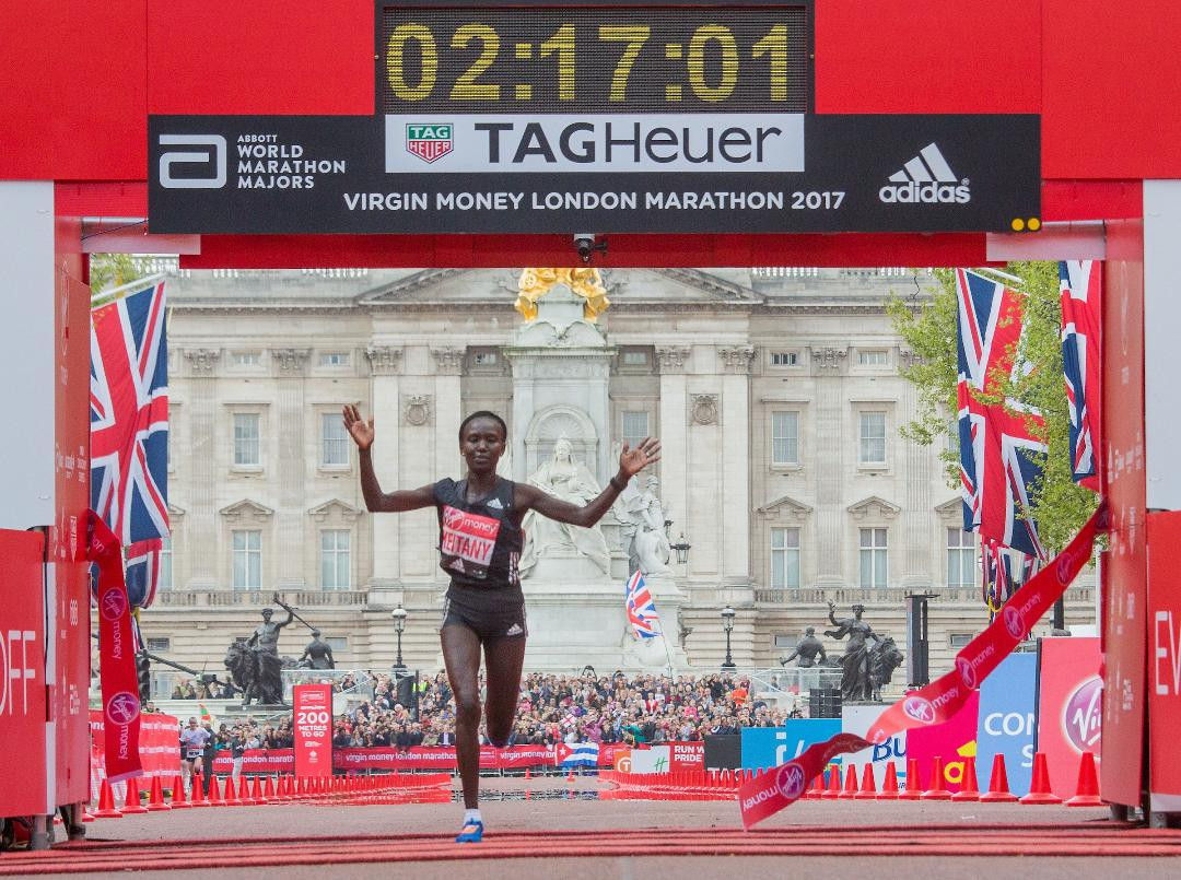 Marathon great Keitany announces retirement from athletics because of back injury