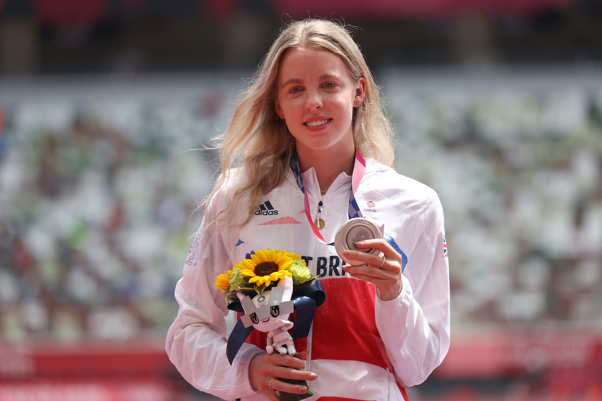 Keely Hodgkinson was one of just six British athletics medal winners at the Tokyo 2020 Olympics ©Getty Images