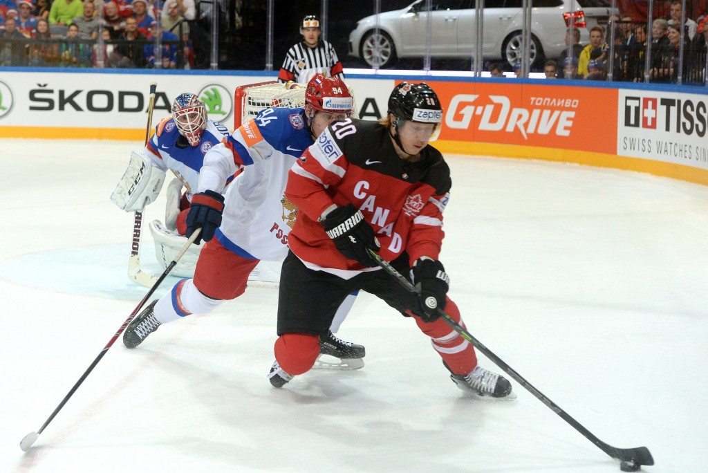 Cody Eakin scored the first goal for the Canadian winners