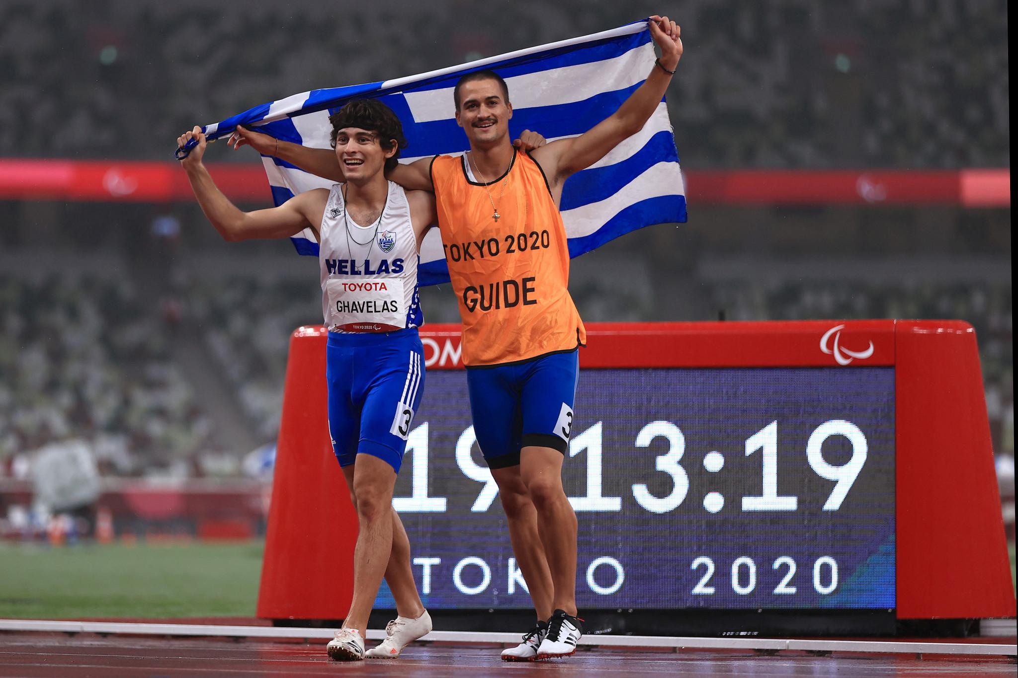 Greek President celebrates achievements of returning Paralympians at reception
