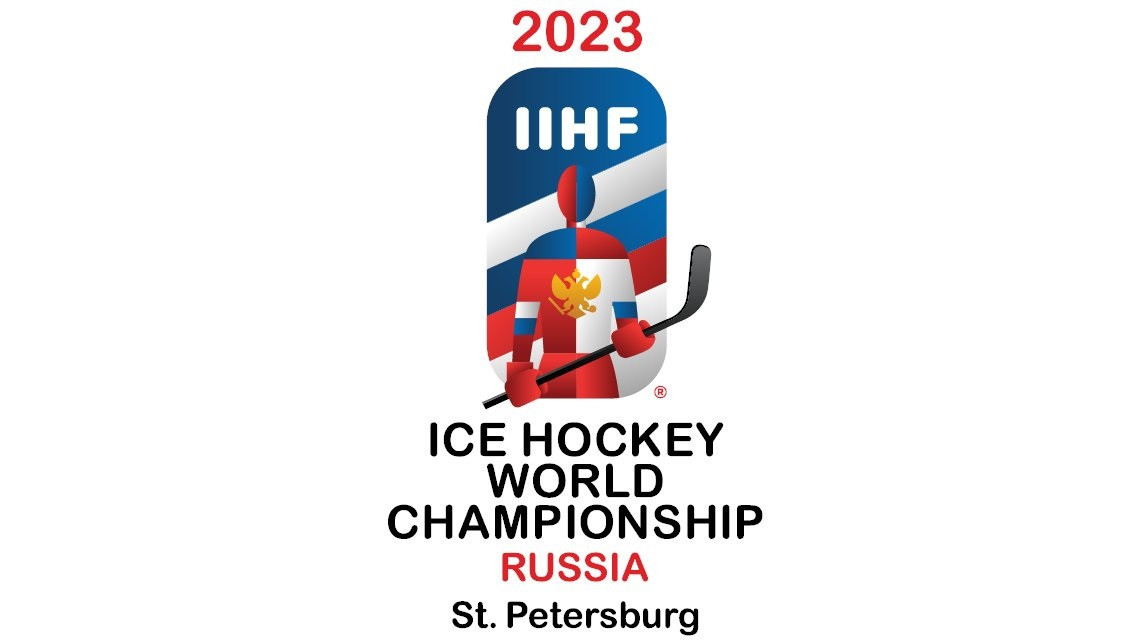 """The logo was inspired by famous painting """"Athletes"""" by the great Russian artist Kazimir Malevich ©IIHF"""