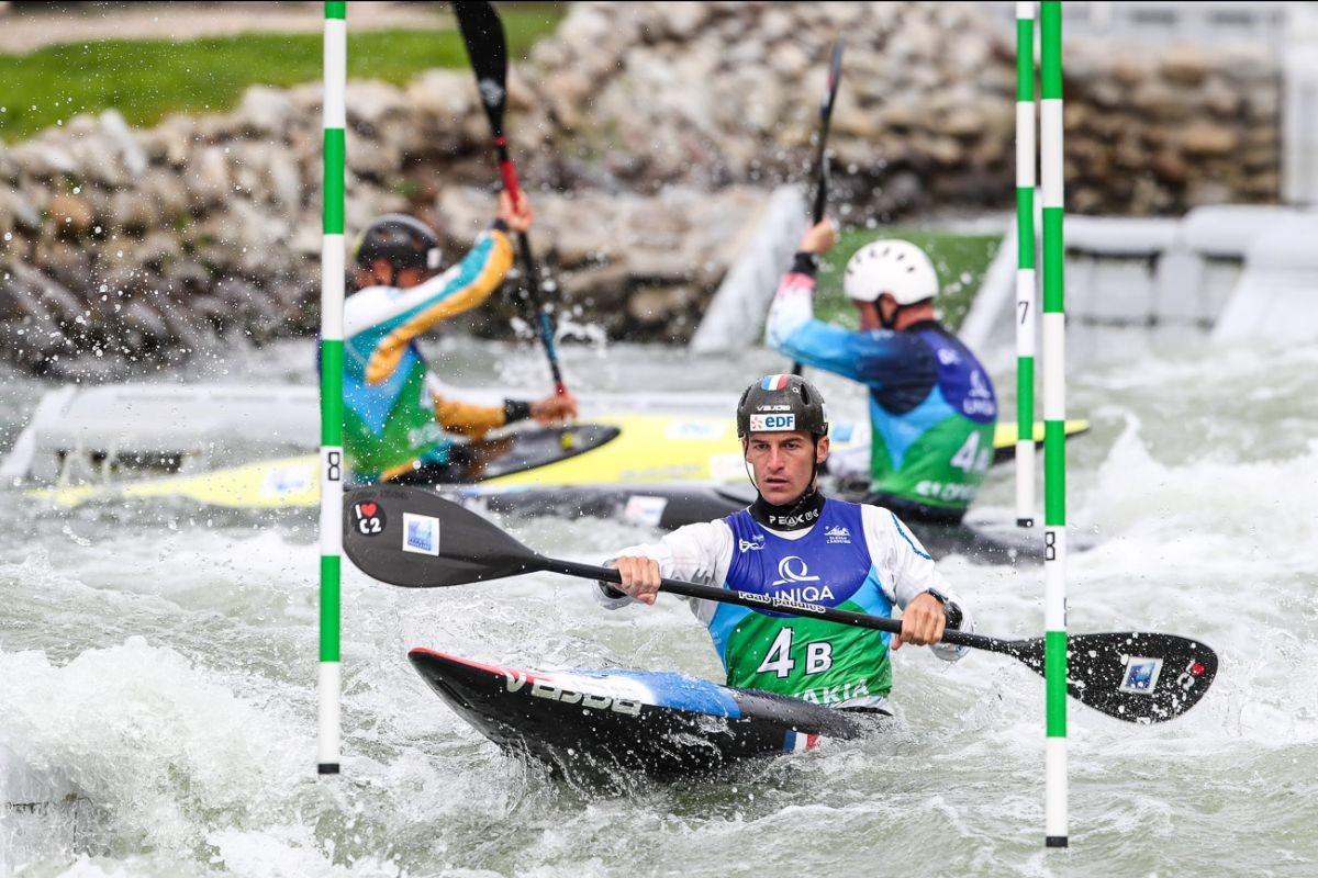 France claim double men's team gold on opening day of Canoe Slalom World Championships