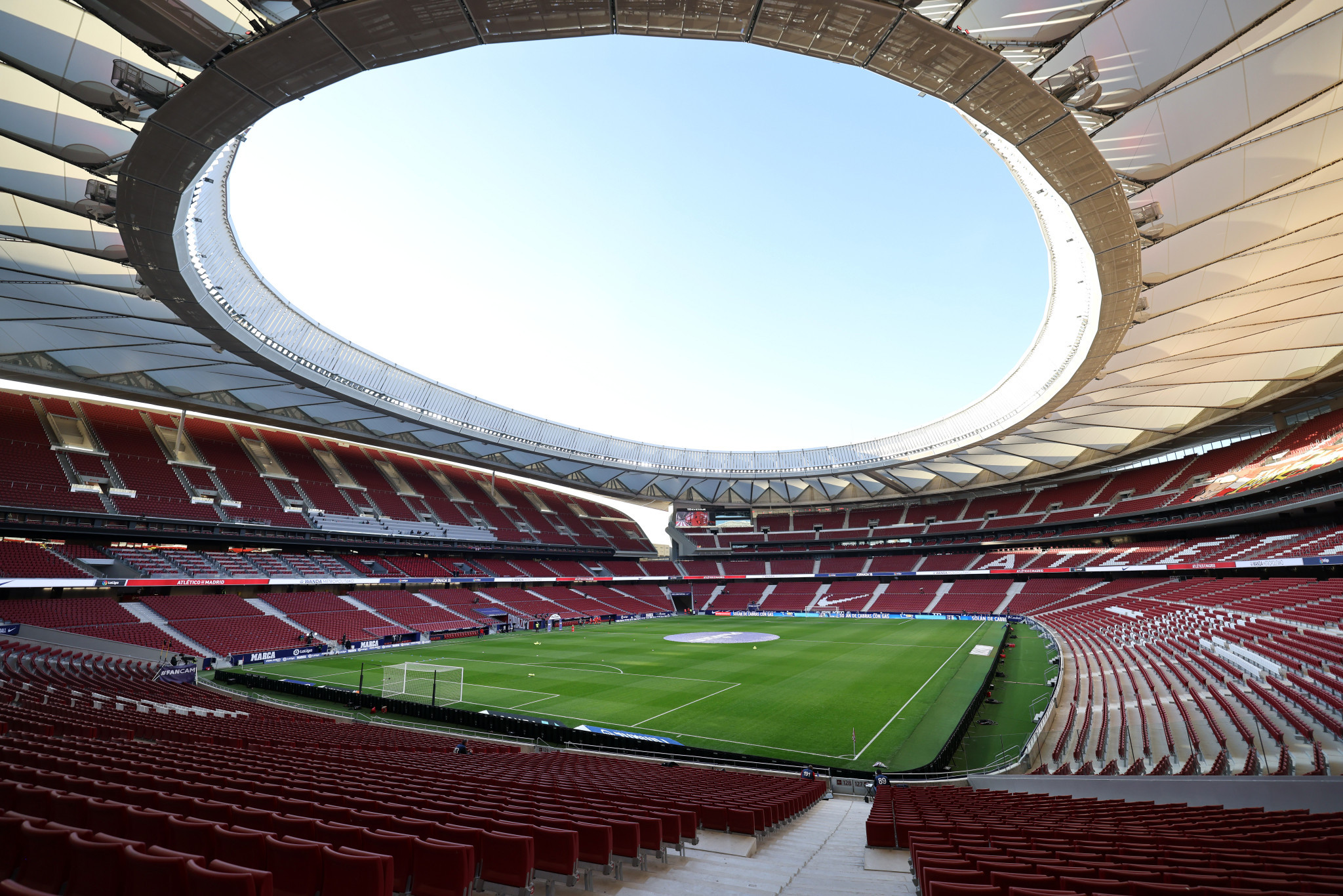 The Metropolitano Stadium would have acted as the main venue had Madrid been won the right to stage the 2020 Olympic and Paralympic Games ©Getty Images