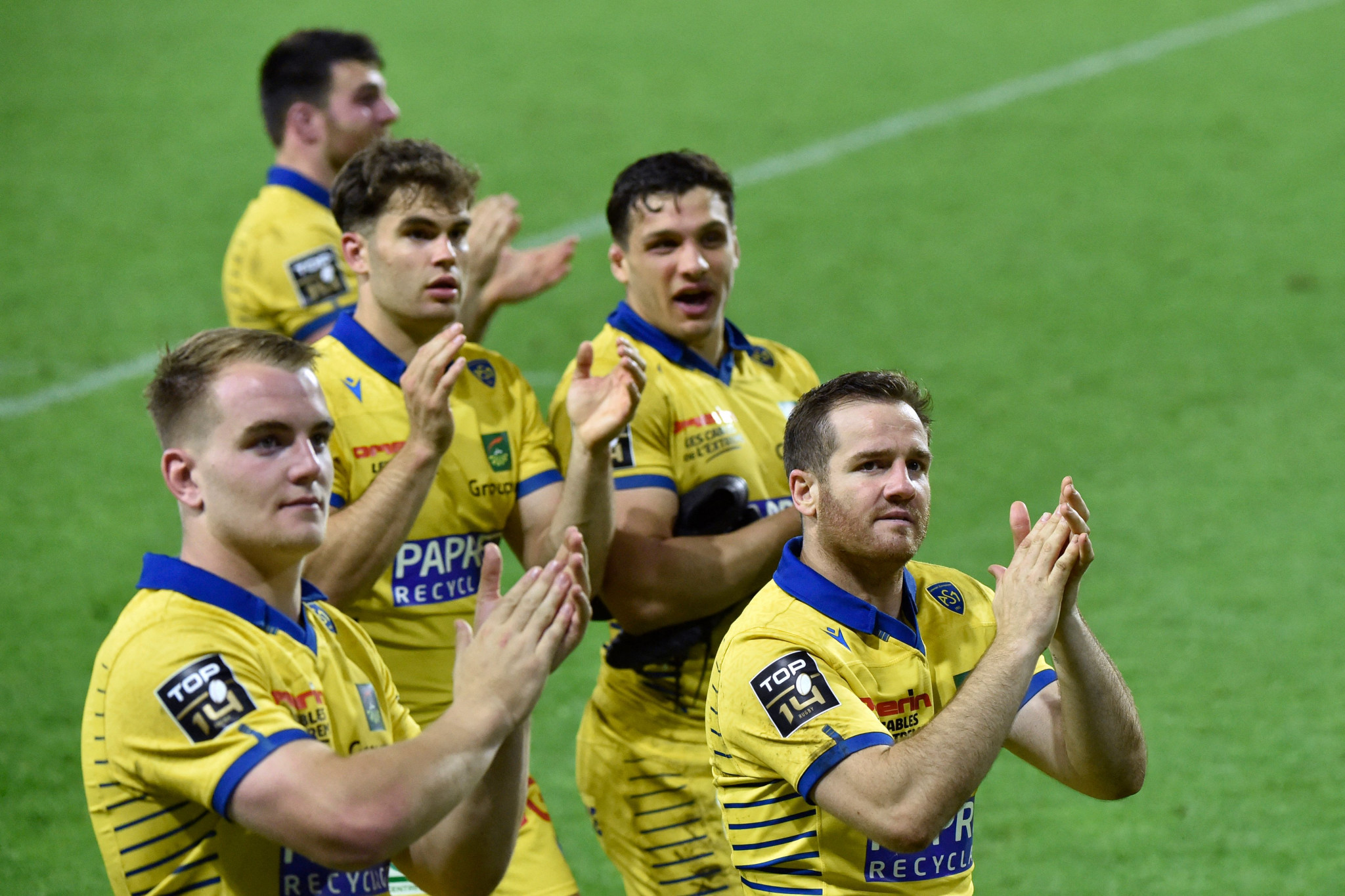 Clermont Auvergne are one of the teams to have agreed to participate in a trial to monitor the guidelines' effectiveness ©Getty Images