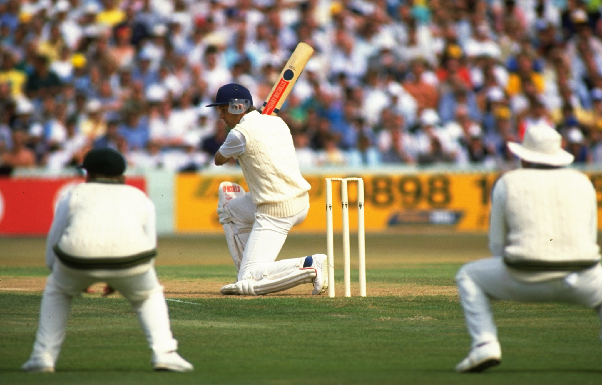 Cricketers of yesteryear played with more elegance than many of today's powerful strikers of the ball ©Getty Images