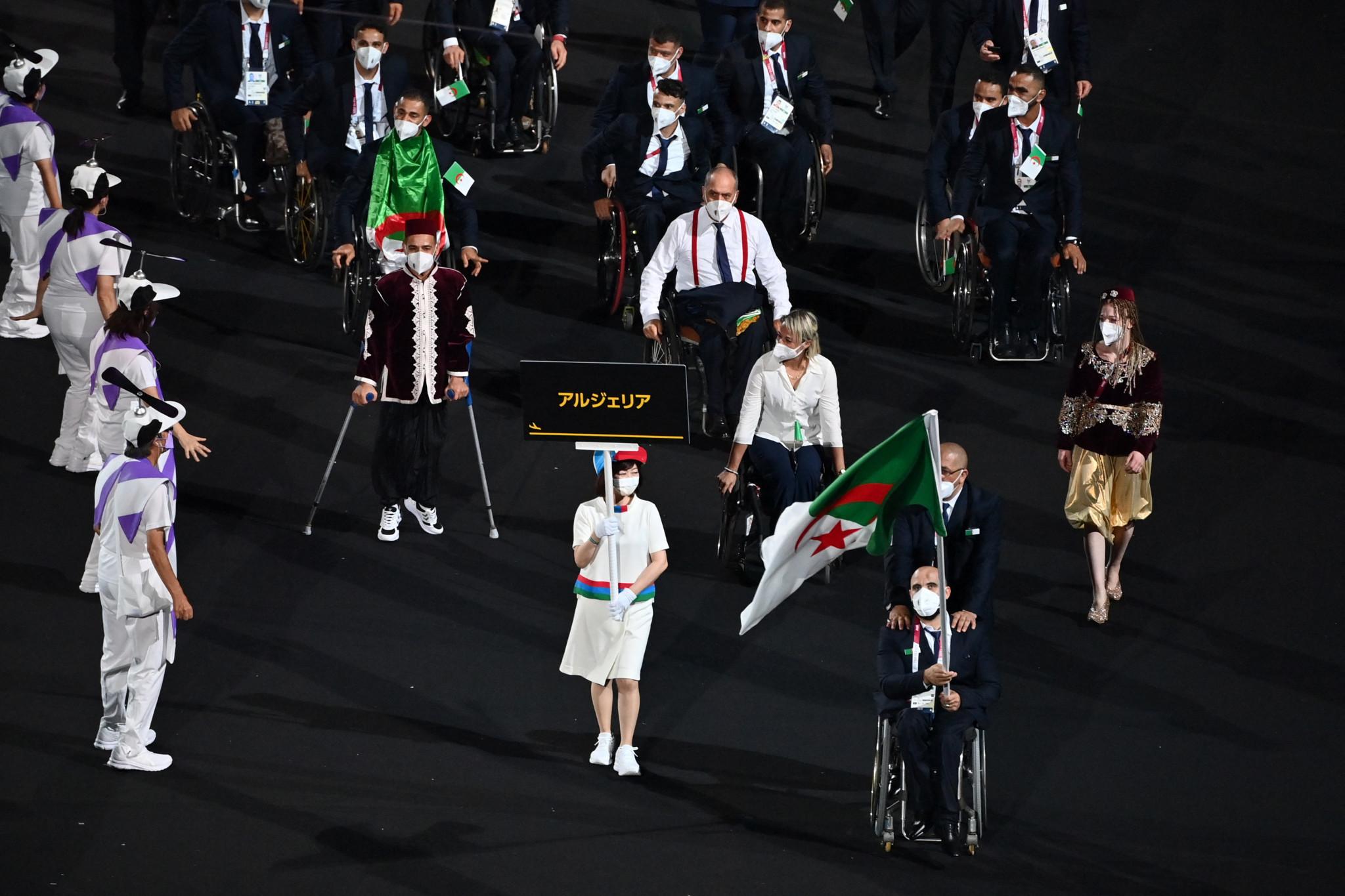 Algerian President honours nation's Paralympic medallists