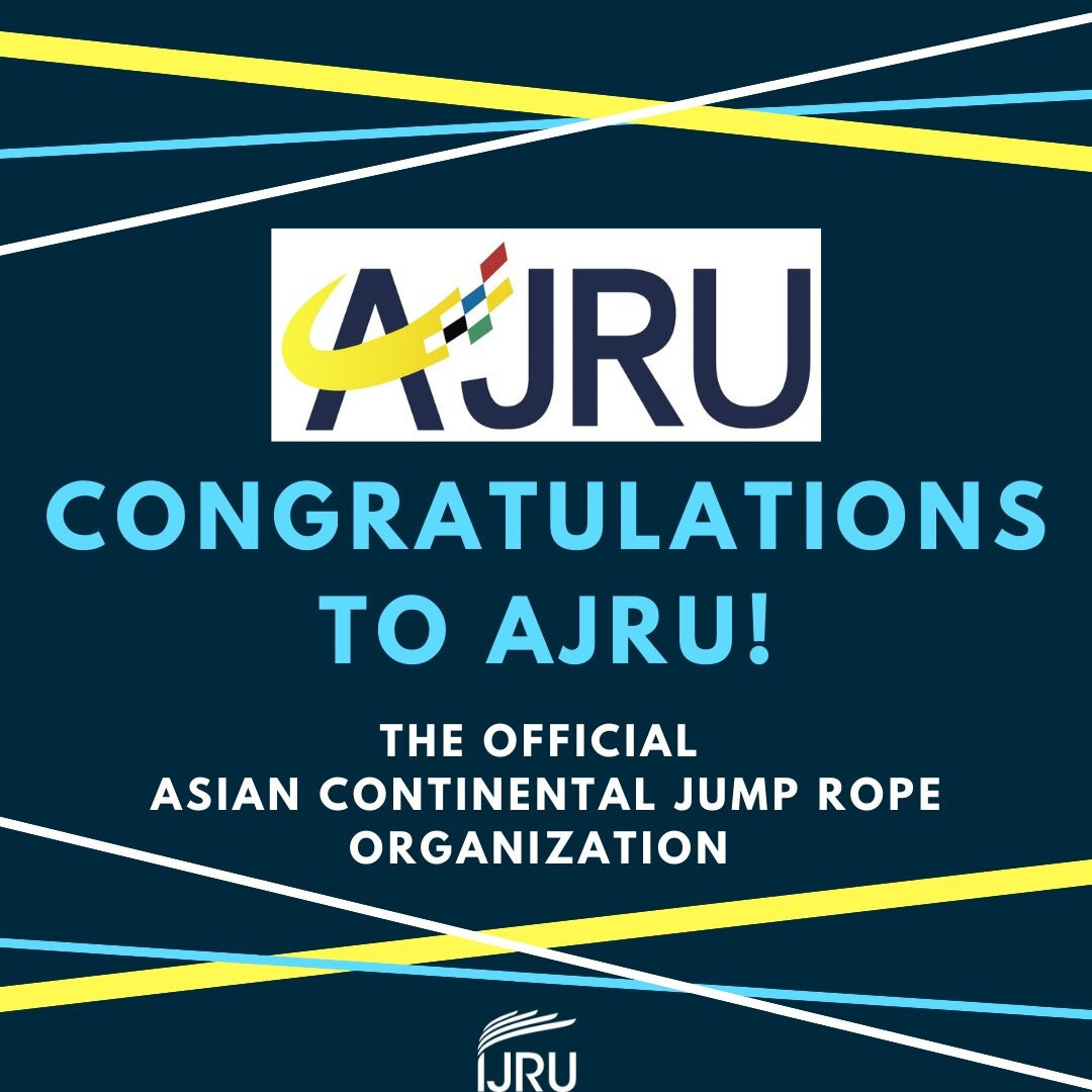 IJRU formally recognises Asian Jump Rope Union