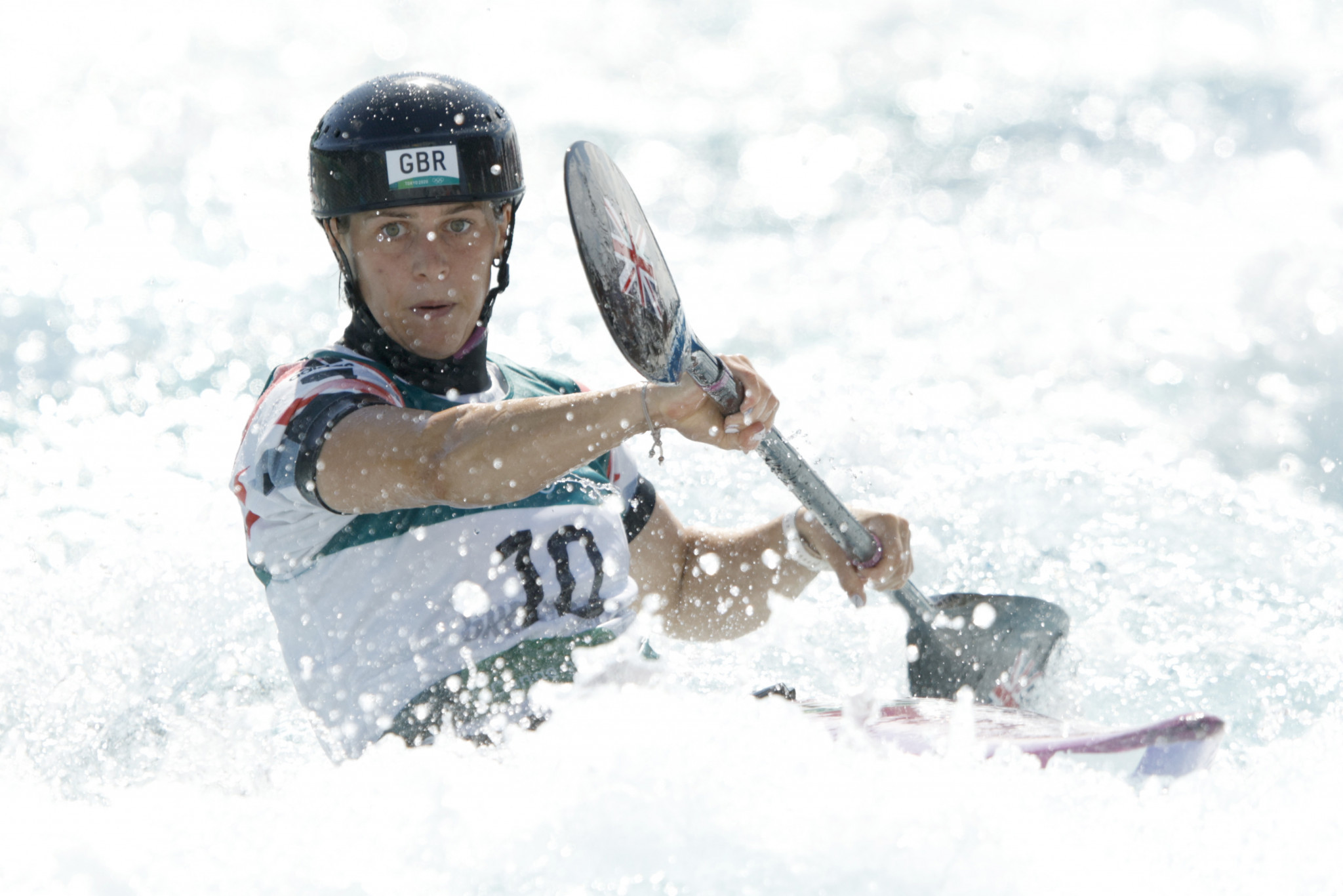 Woods makes remarkable recovery to lead women's C1 qualifying at ICF Canoe Slalom World Championships