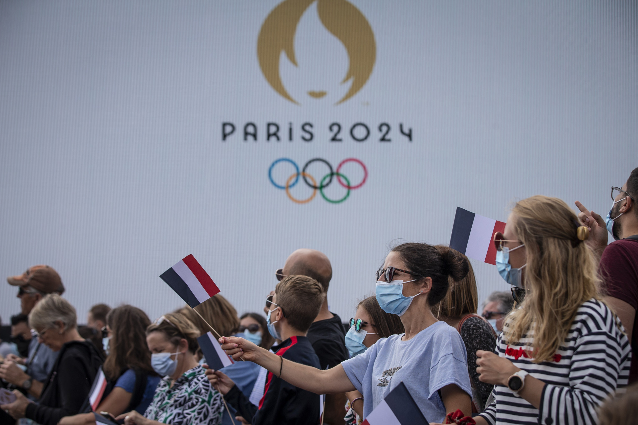 Paris 2024 is planning to start drawing up the Torch Relay route later this year ©Getty Images