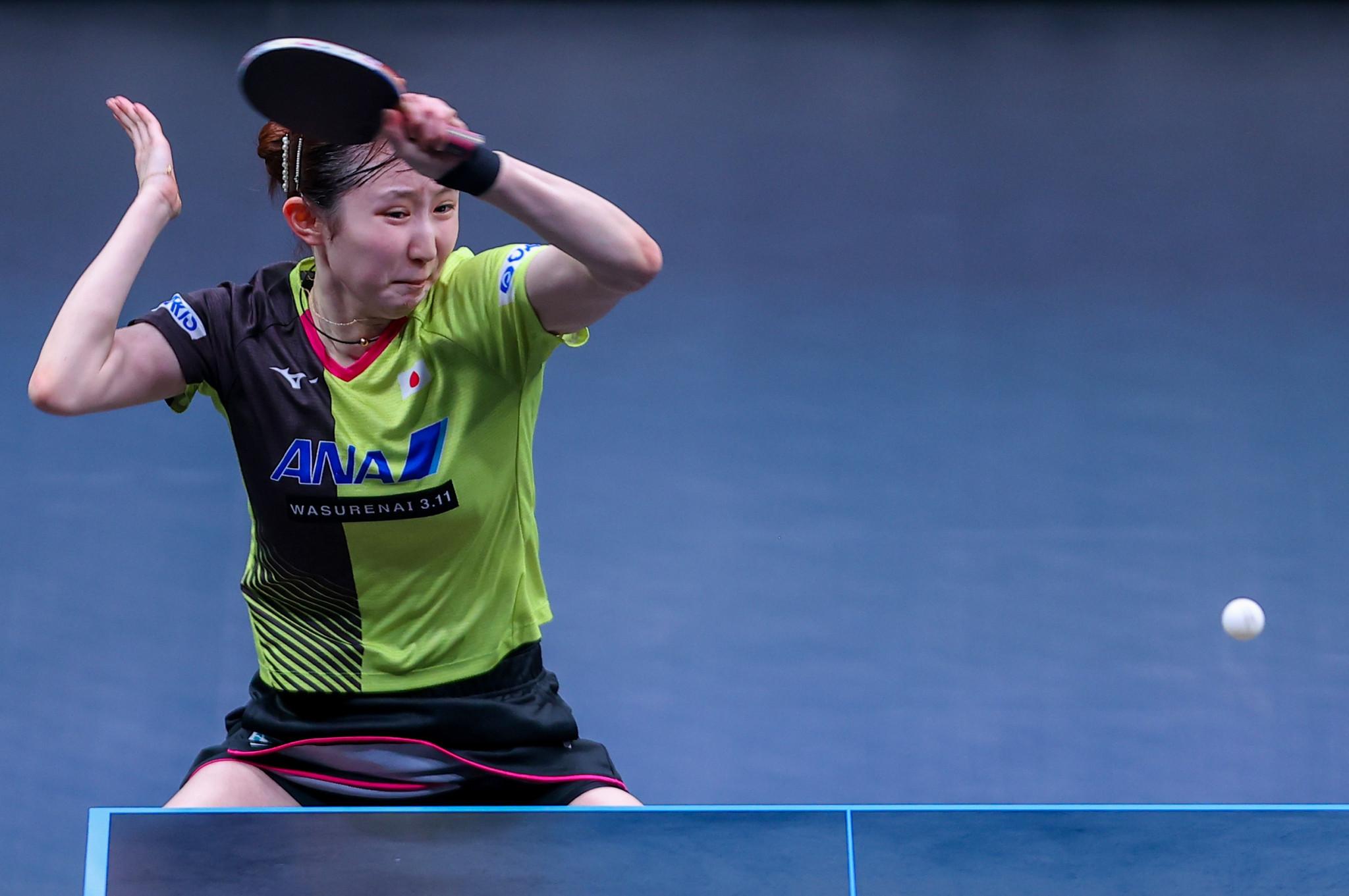 Hayata and Ando set for all-Japanese quarter-final at WTT Star Contender Doha