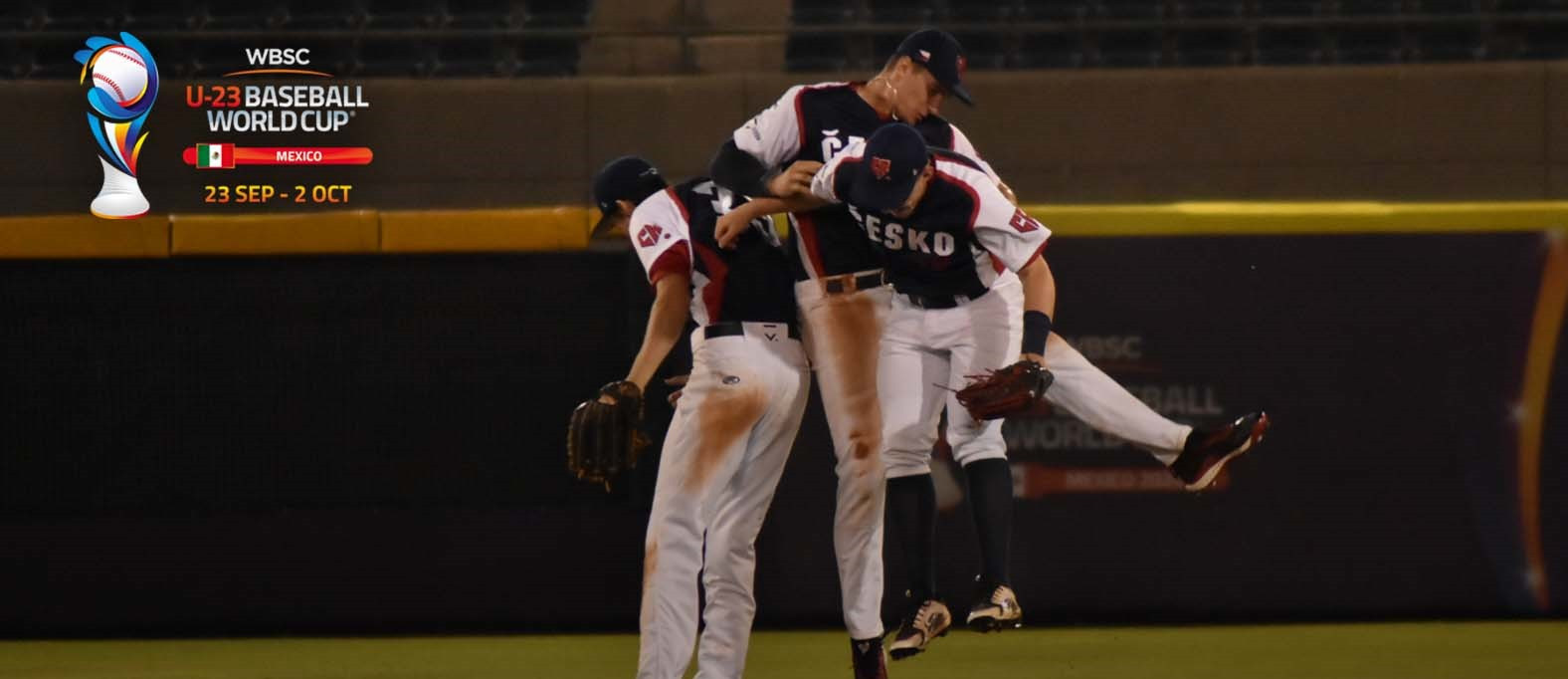 The Czech Republic began the tournament with a big win ©Twitter/WBSC