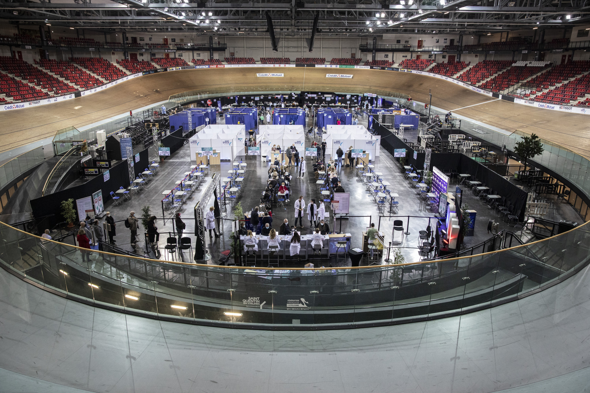 French UCI Track Champions League leg called off as venue needed for COVID-19 vaccination drive