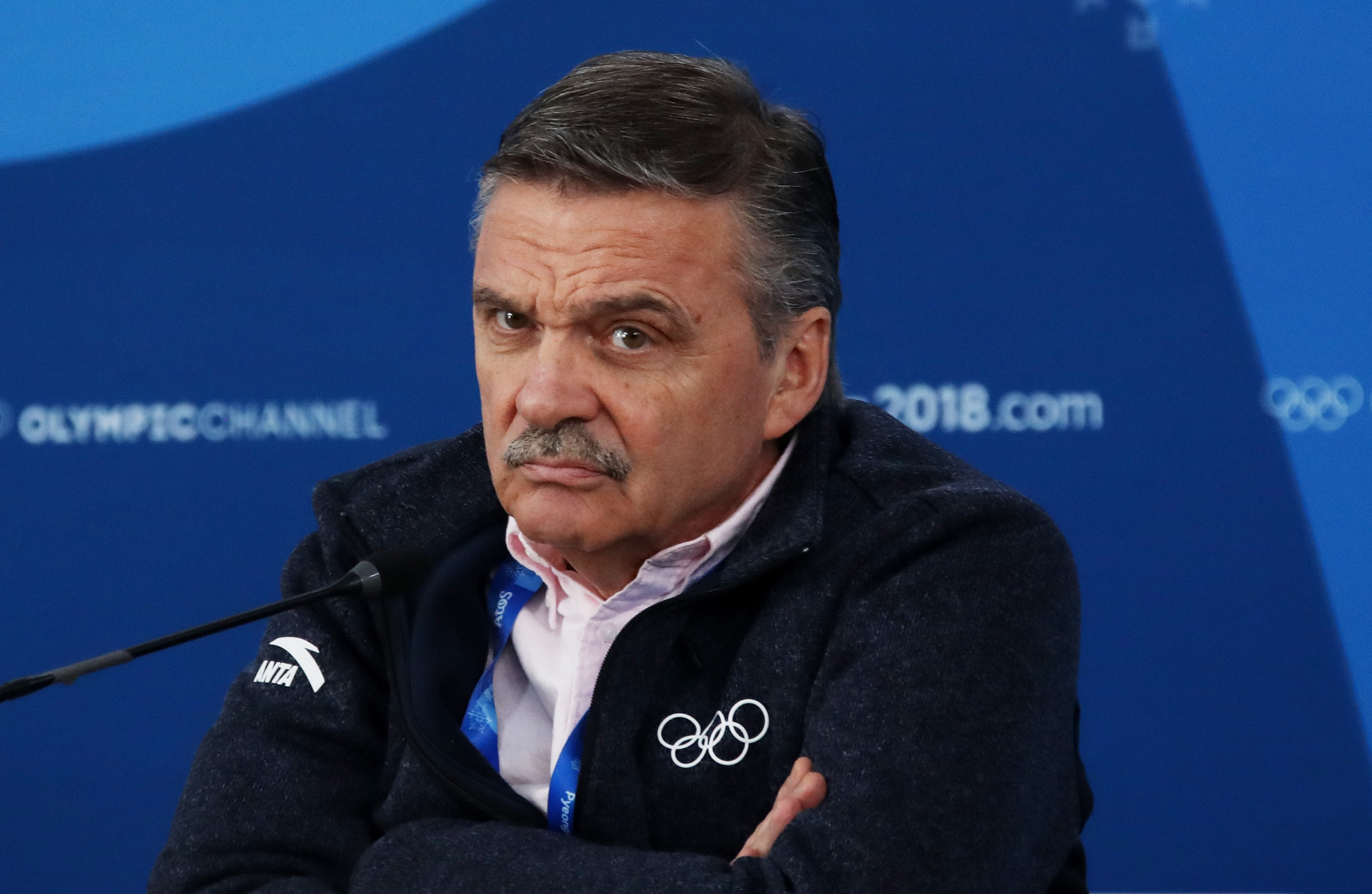 René Fasel became an International Olympic Committee member in 1995 ©Getty Images