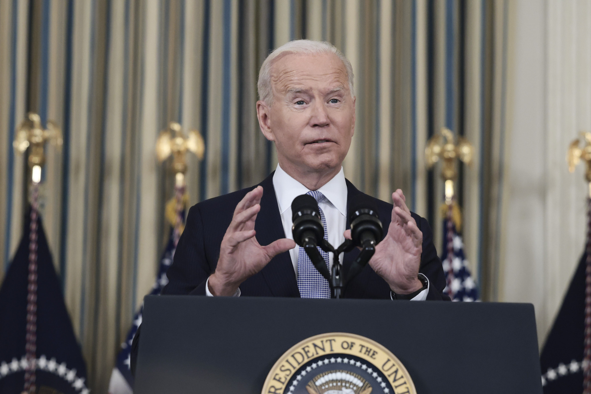 US President Joe Biden is considering a diplomatic boycott of the Beijing 2022 Winter Olympics due to China's human rights record, the US State Department has previously admitted ©Getty Images