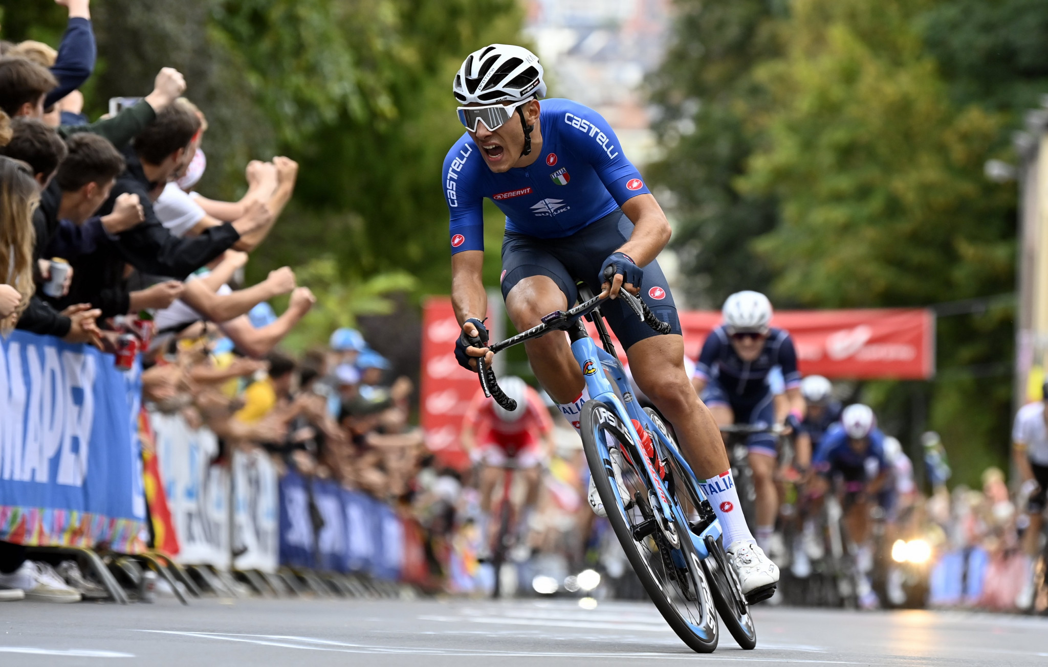 Hagenes, Baroncini win titles as Eritrea clinch first ever medal at UCI Road World Championships
