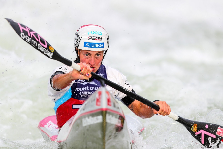 Martina Satková is hoping to become the first wildwater canoeist to win a senior K1 and C1 sprint world title ©ICF