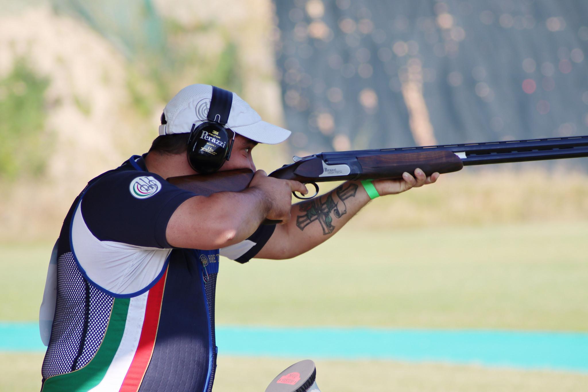 Italy dominates Lonato 2021 World Shooting Para Sport Para Trap World Championships qualifying