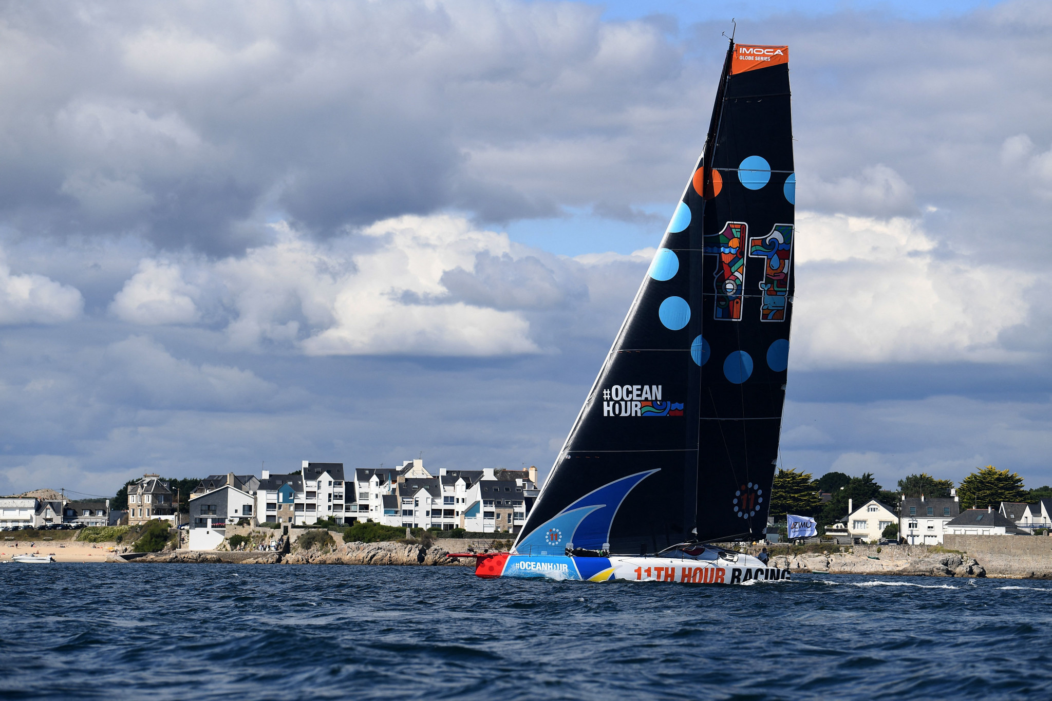 Italy lead 2021 Hempel Mixed Two Person Offshore World Championship as Venice finish line nears