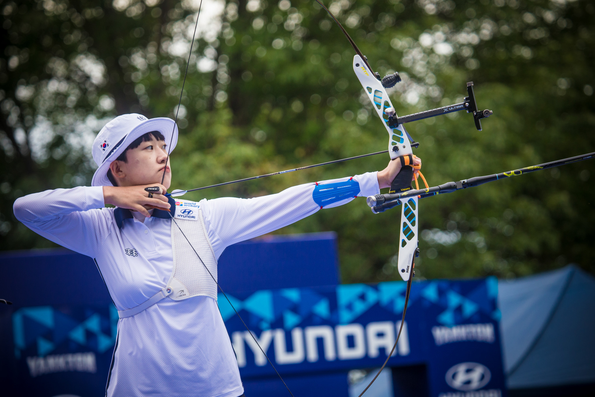 South Korea sweep team recurve finals at World Archery Championships