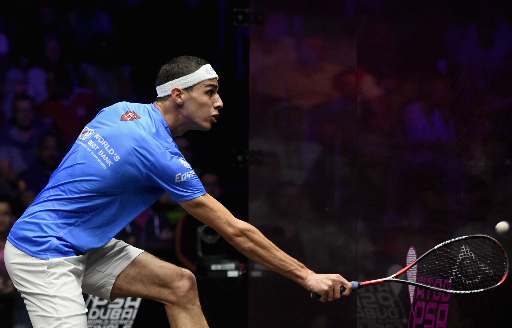 Farag blitzes his way into Oracle Netsuite Open quarter-finals