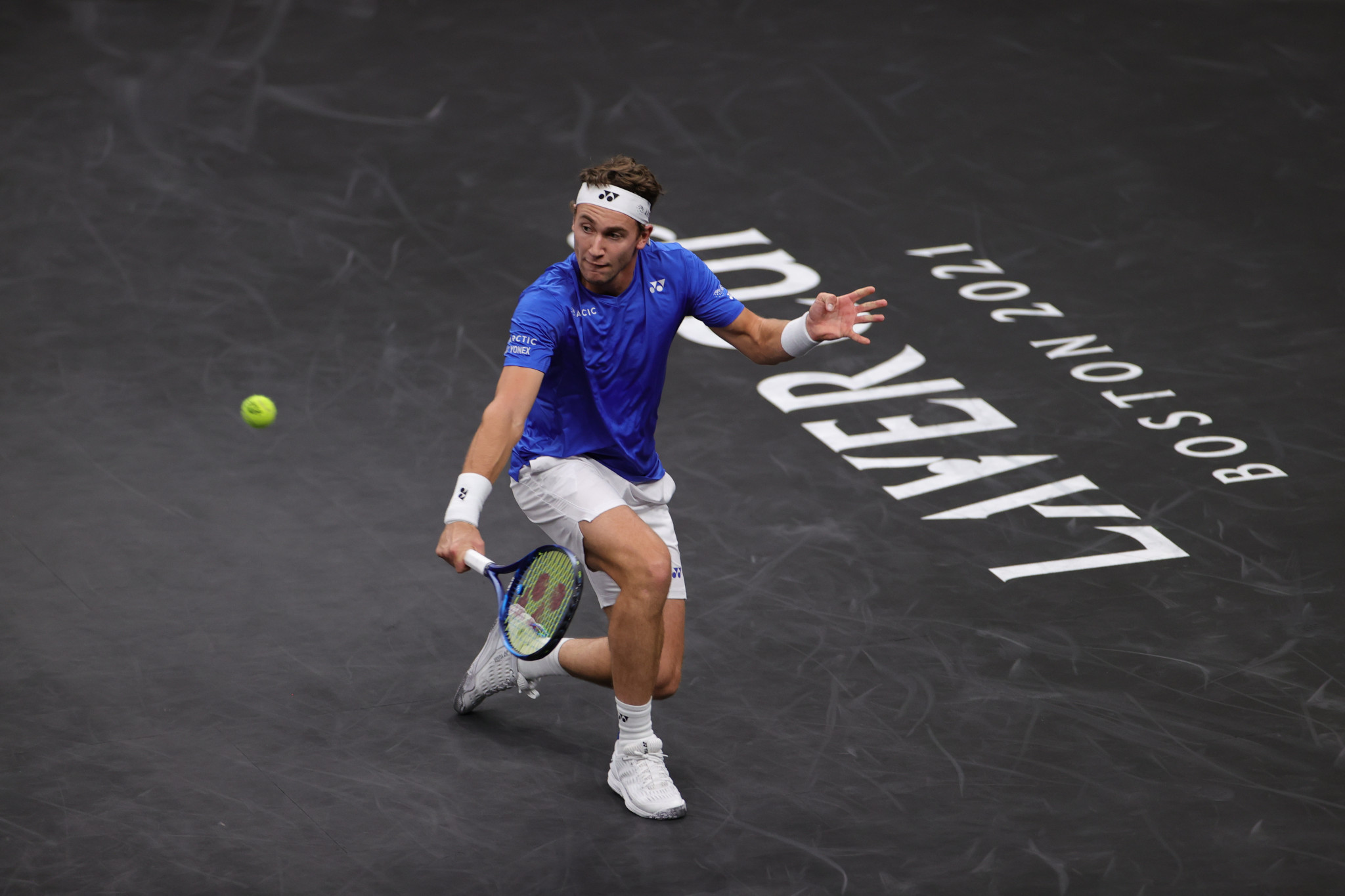 Europe off to blistering start at Laver Cup as Berrettini, Ruud and Rublev all win singles ties