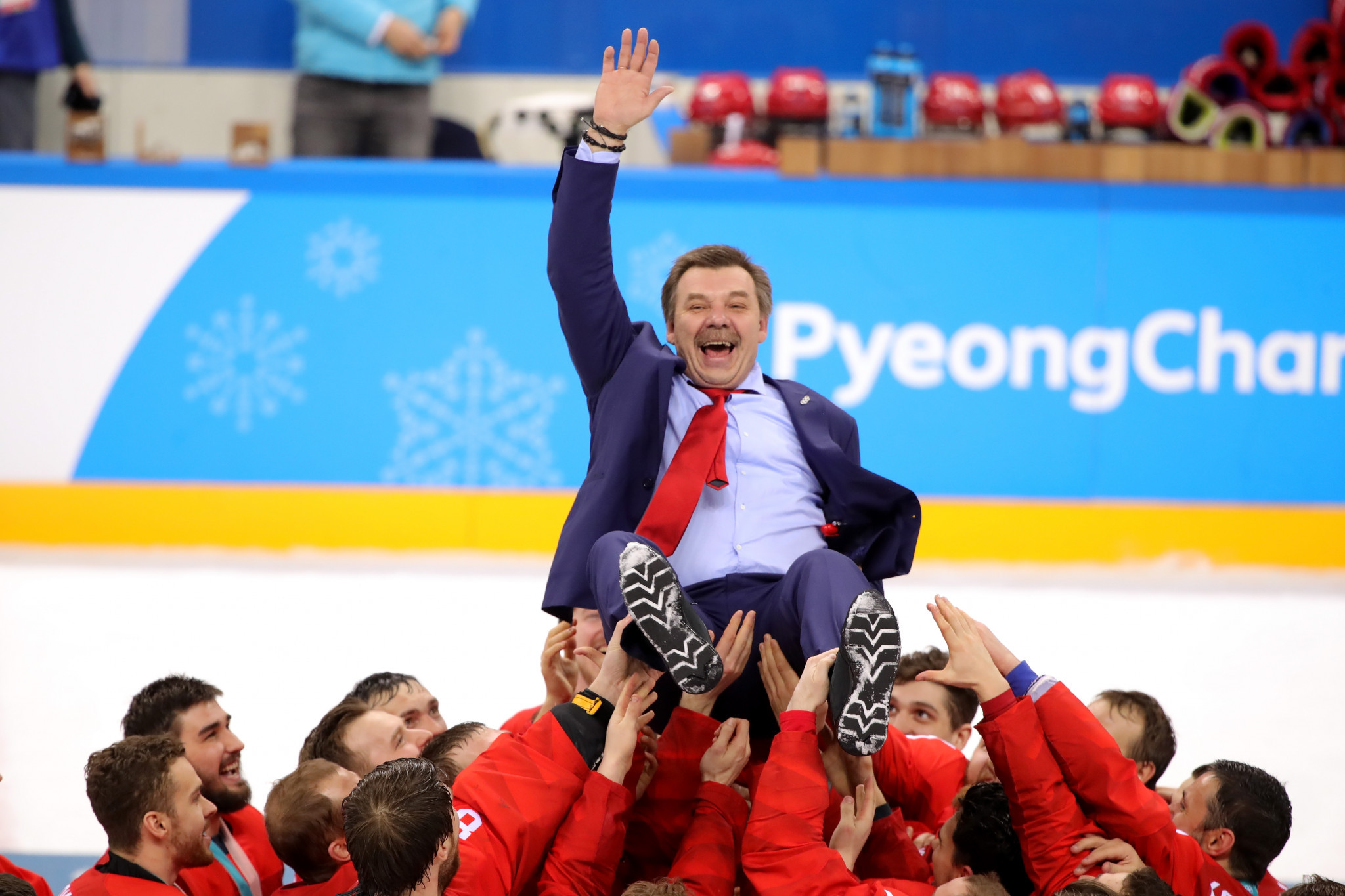 Znarok re-appointed head coach of Russian national ice hockey team