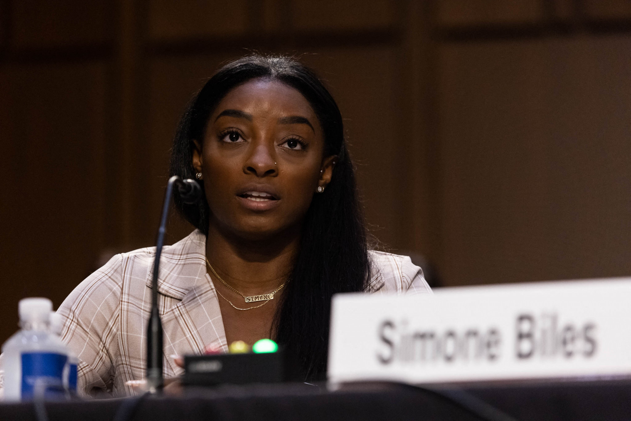 American star Simone Biles has repeatedly criticised USA Gymnastics for its handling of the Larry Nassar case ©Getty Images