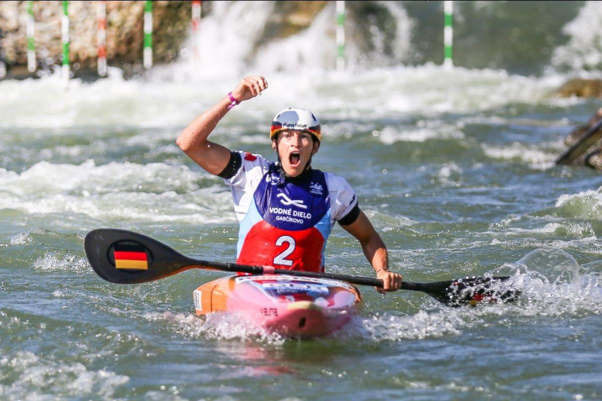Olympic champion Funk makes history with gold at Canoe Slalom World Championships