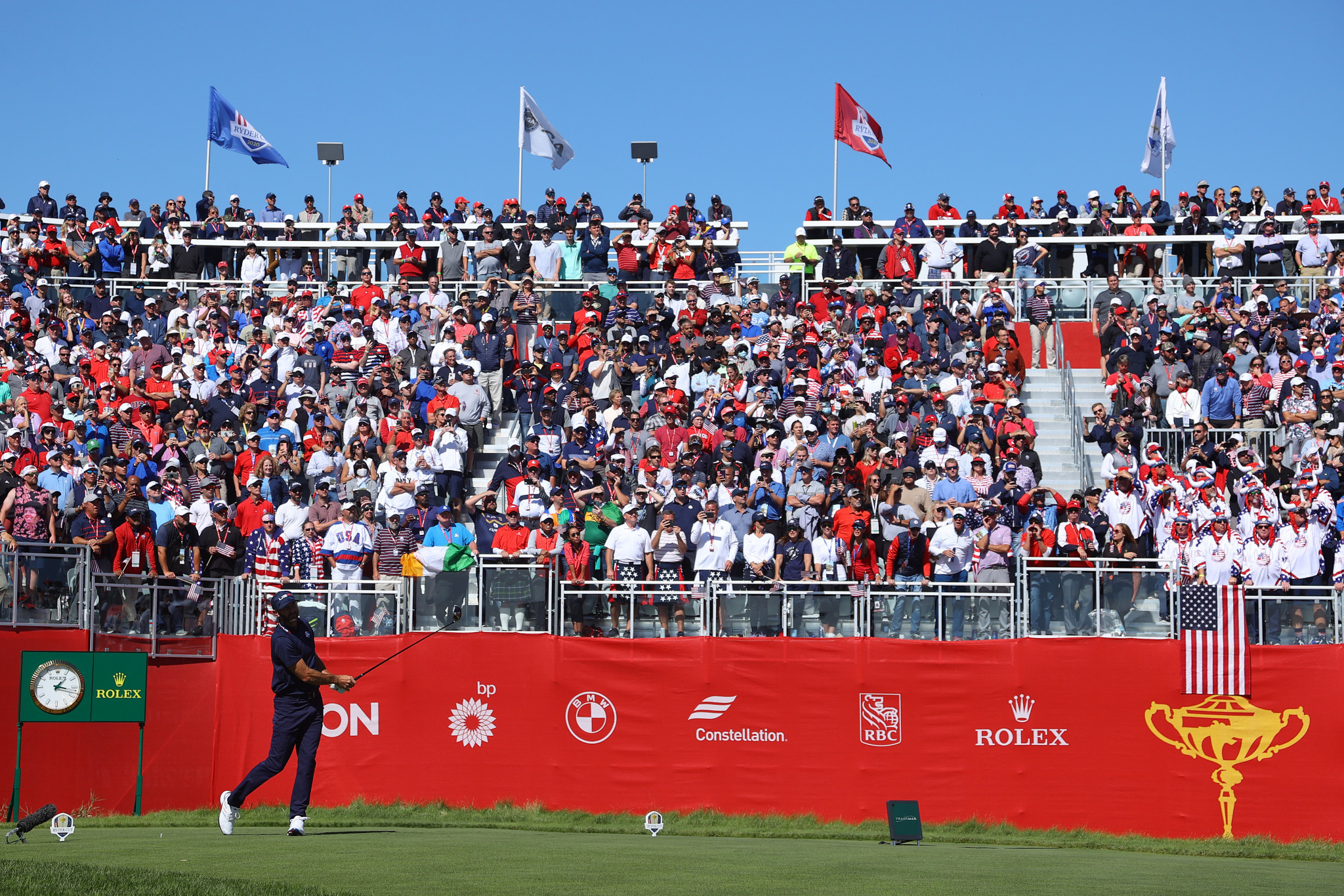US open up six point lead over Europe heading into final day of Ryder Cup