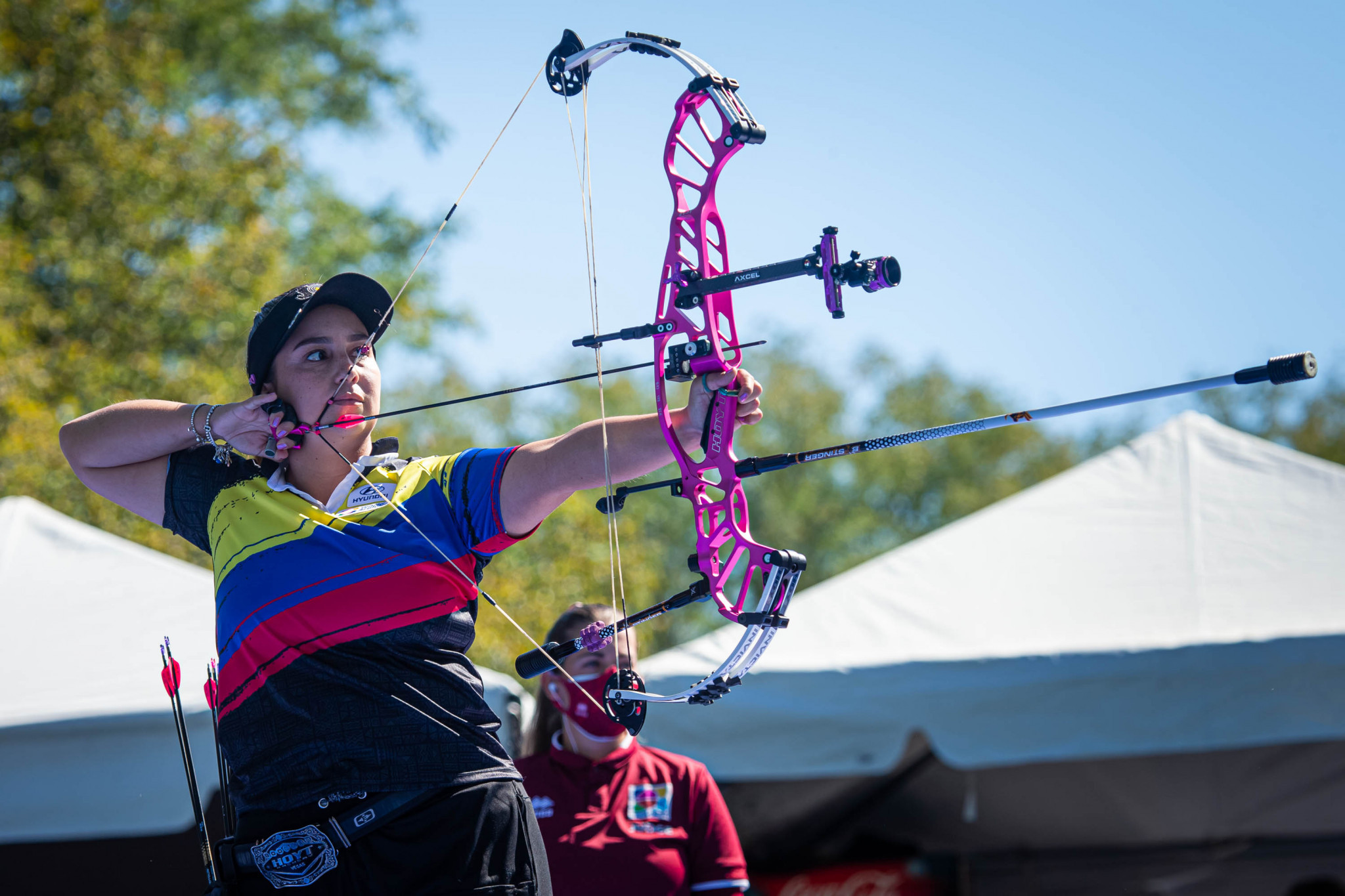 López completes hat-trick of golds at World Archery Championships