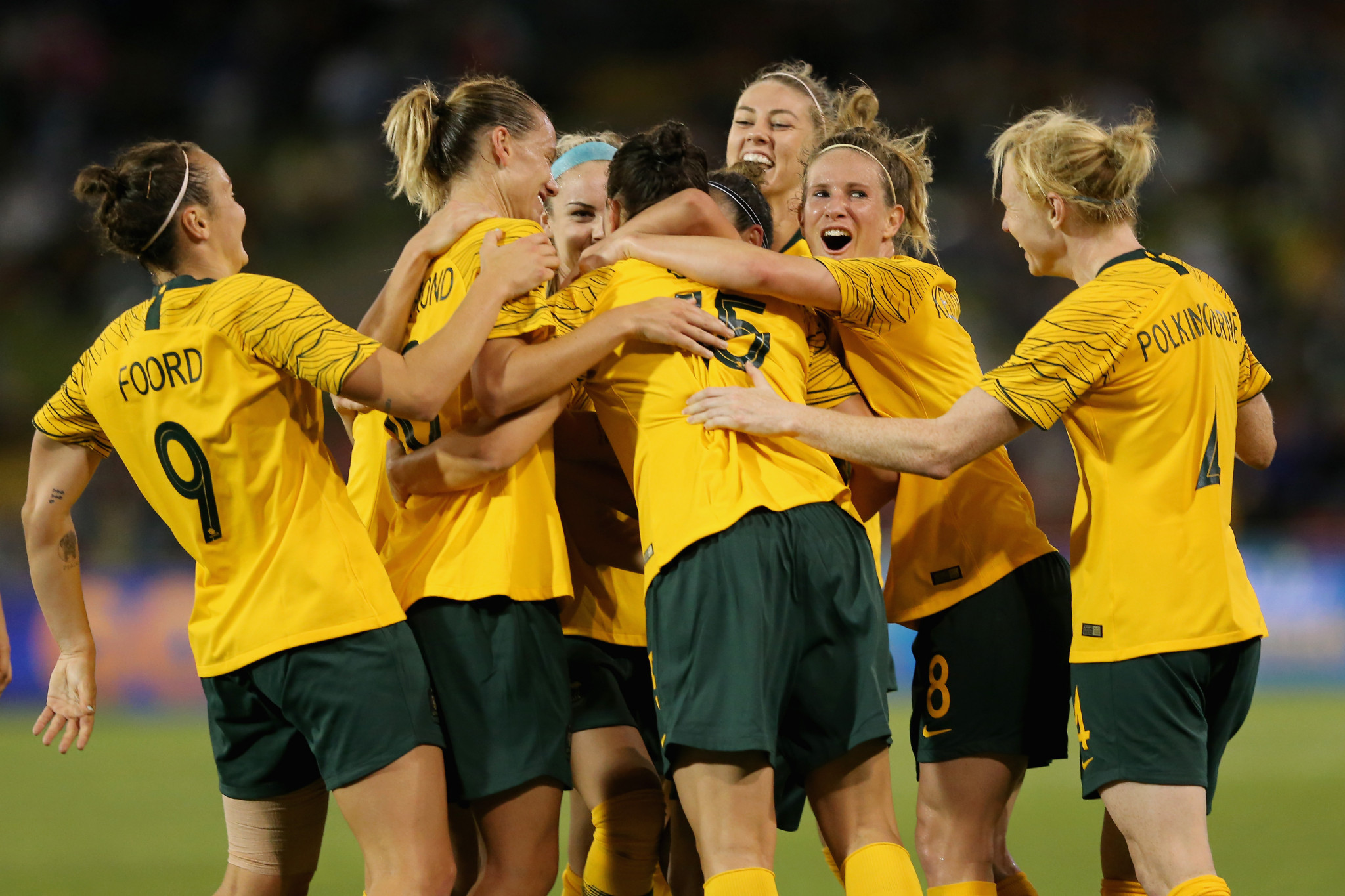 Australia's women's team are set to welcome Brazil for two matches next month ©Getty Images