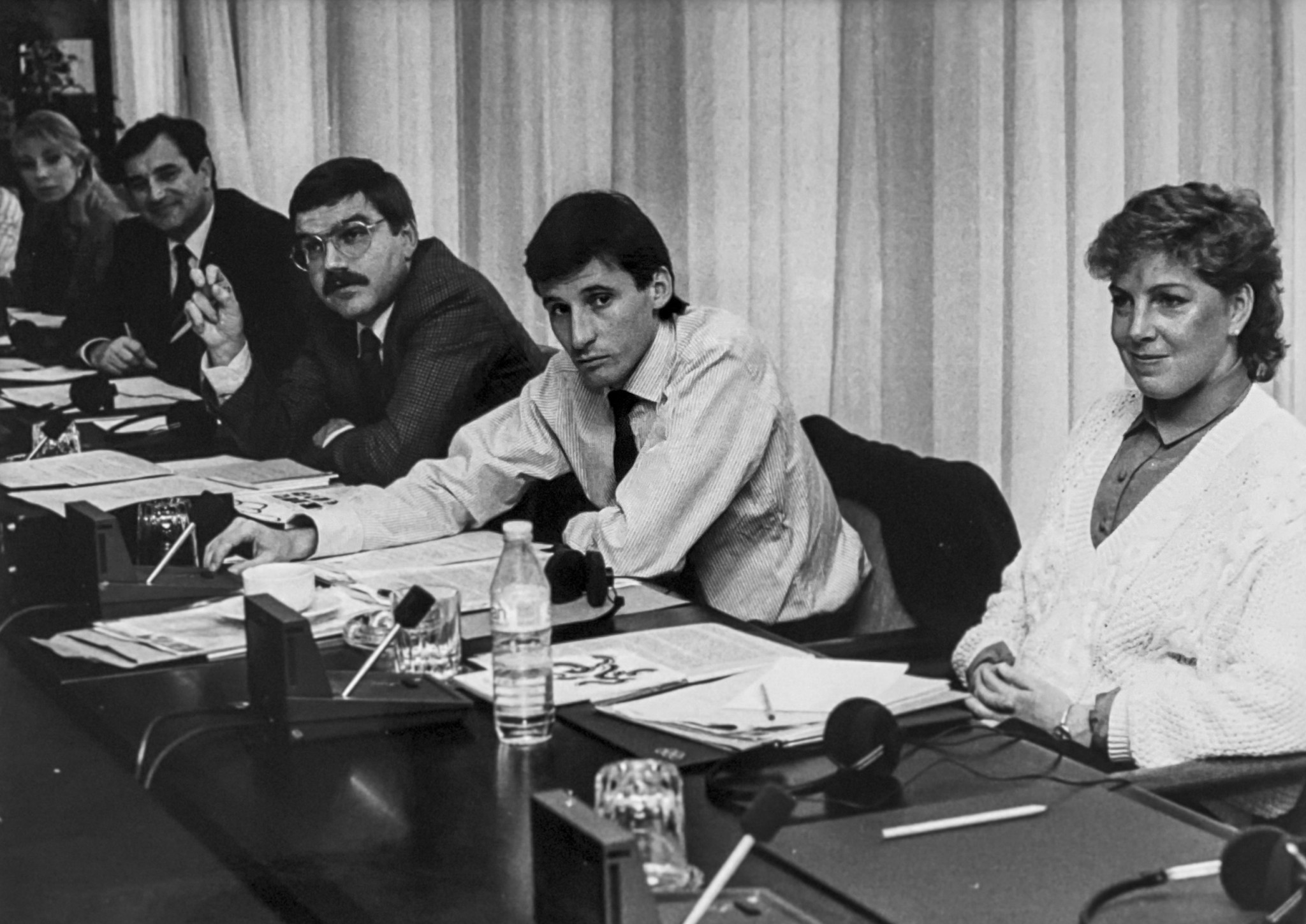 Thomas Bach, Sebastian Coe ad Michelle Ford - left to right - all played key roles in the establishment of the IOC's Athletes' Commission ©Michelle Ford