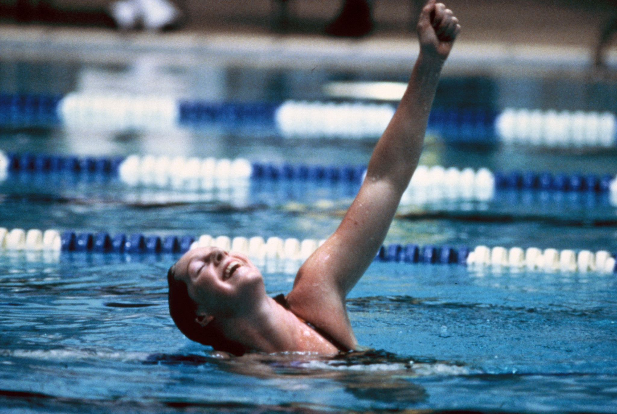 Michelle Ford won the women's 800m freestyle Olympic gold medal in 1980 ©Michelle Ford