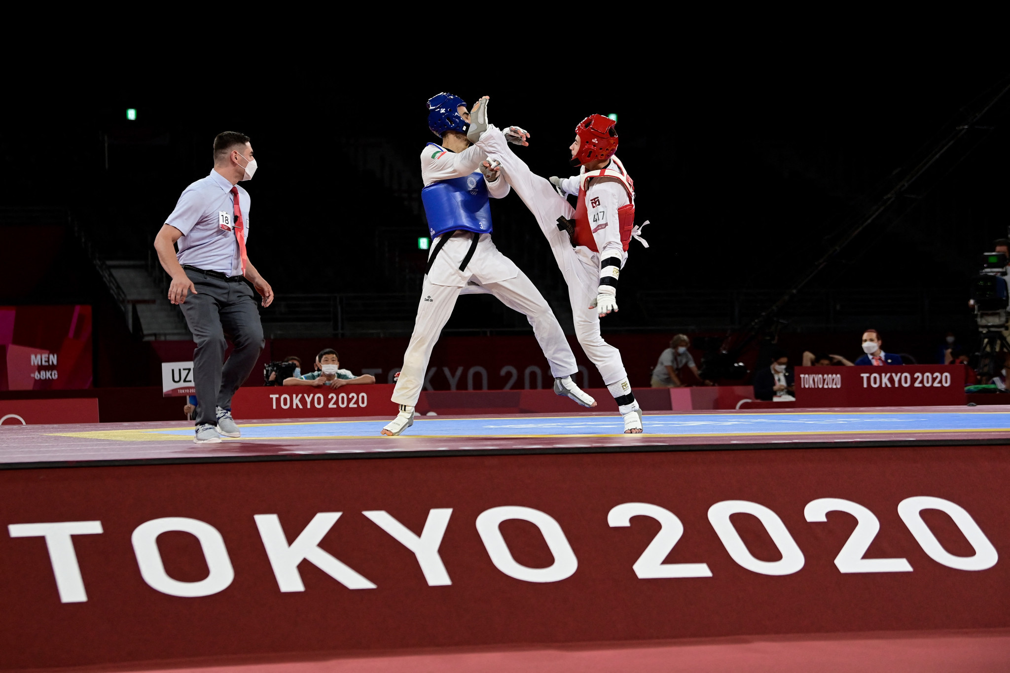 Tokyo 2020 represented the first time since taekwondo was added to the full Olympic programme that Iran did not win a medal in the sport ©Getty Images